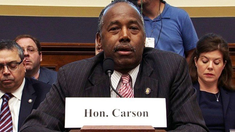Carson Considered Leaving HUD Over Department Budget Negotiations