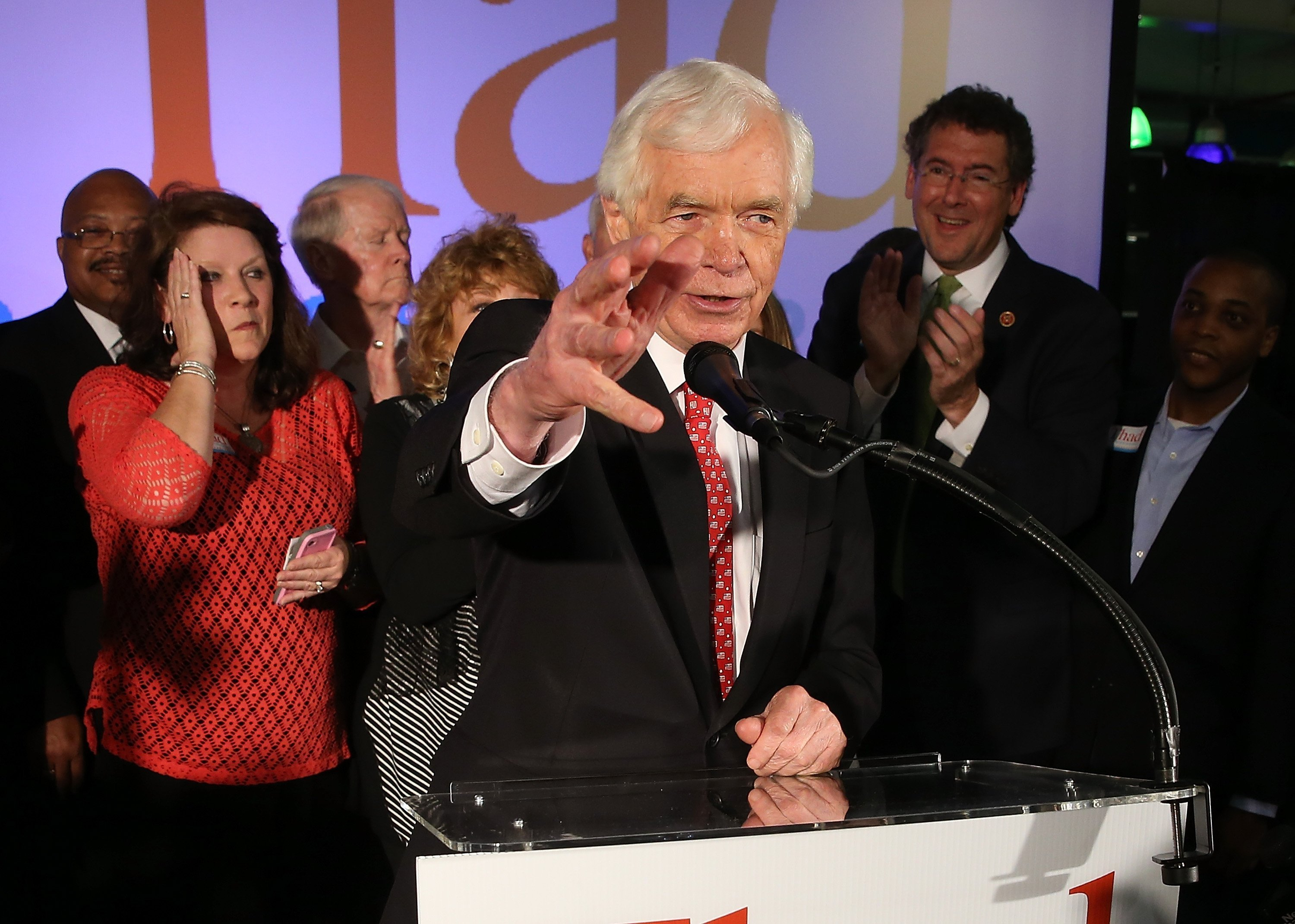 Mississippi Senator Thad Cochran announces he is stepping down