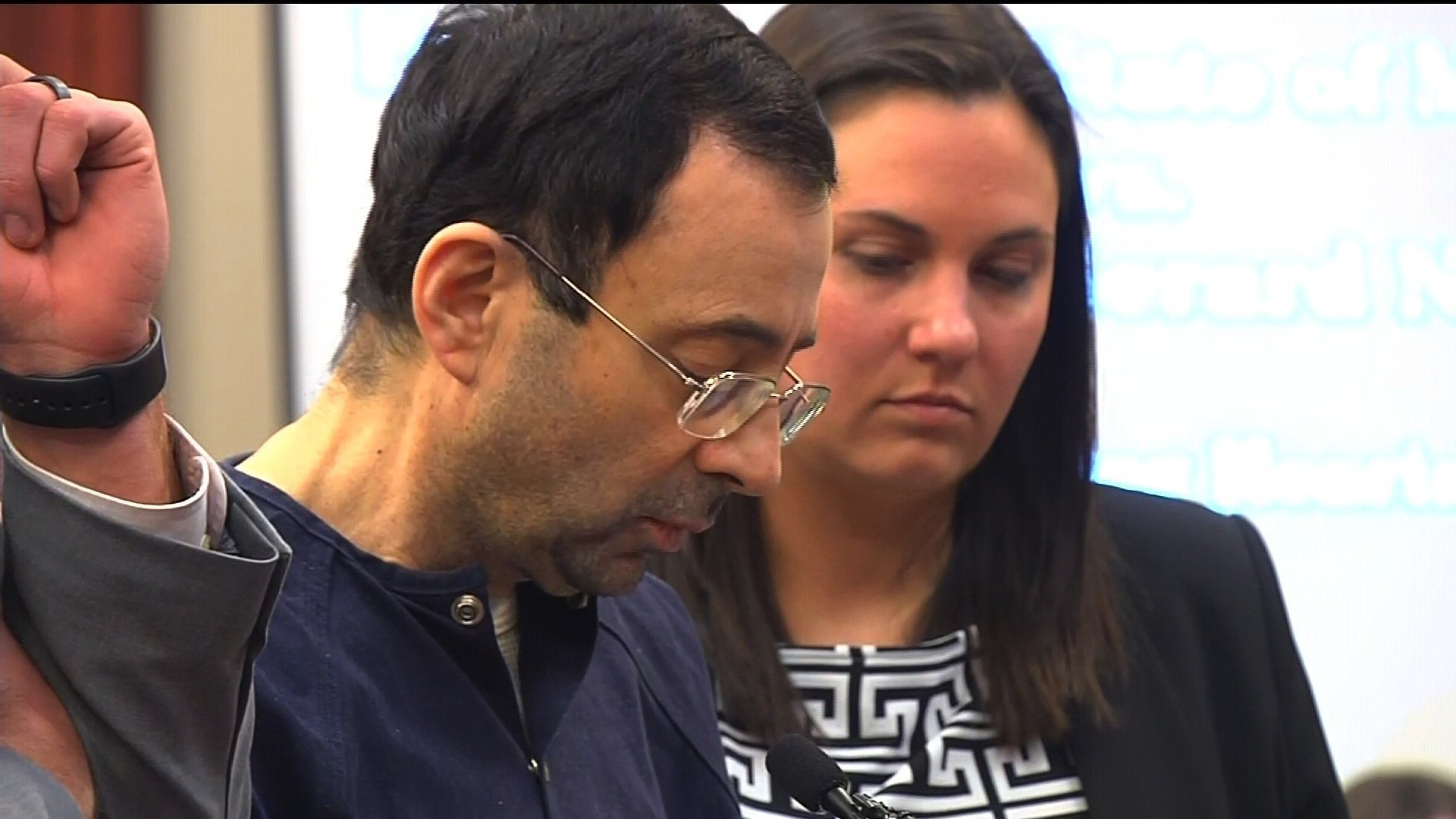 First male victim of Larry Nassar comes forward