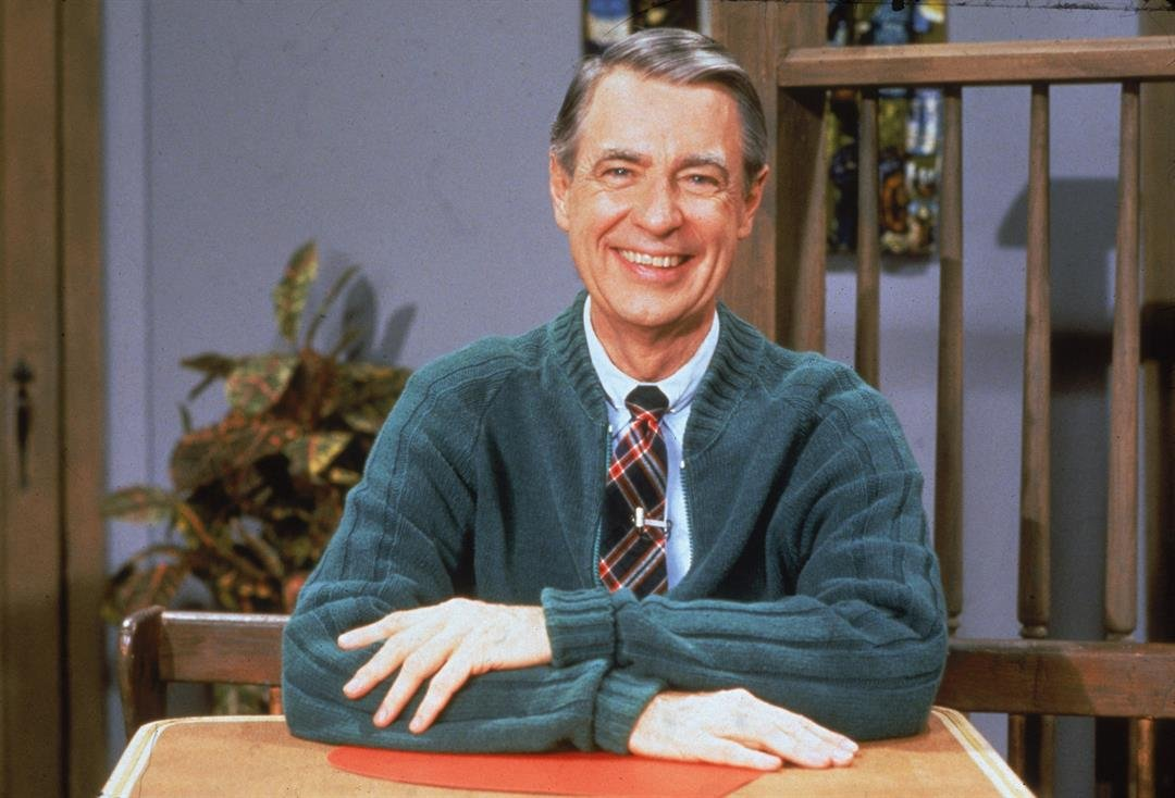 Fred Rogers (1928 - 2003) of the television series 'Mister Rogers' Neighborhood,' circa 1980s.  CREDIT: Fotos International/Courtesy of Getty Images