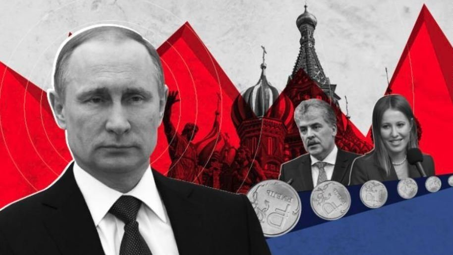 Vladimir Putin is seeking a second consecutive term as president of Russa, a fourth altogether to cement his power.