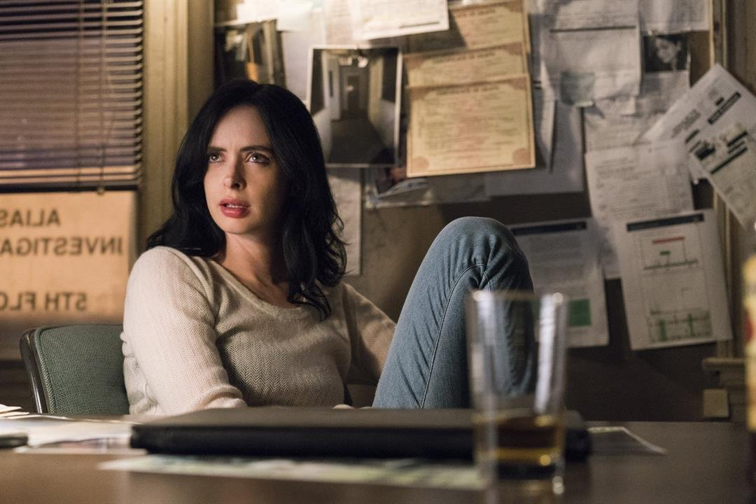 Krysten Ritter in 'Marvel's Jessica Jones'