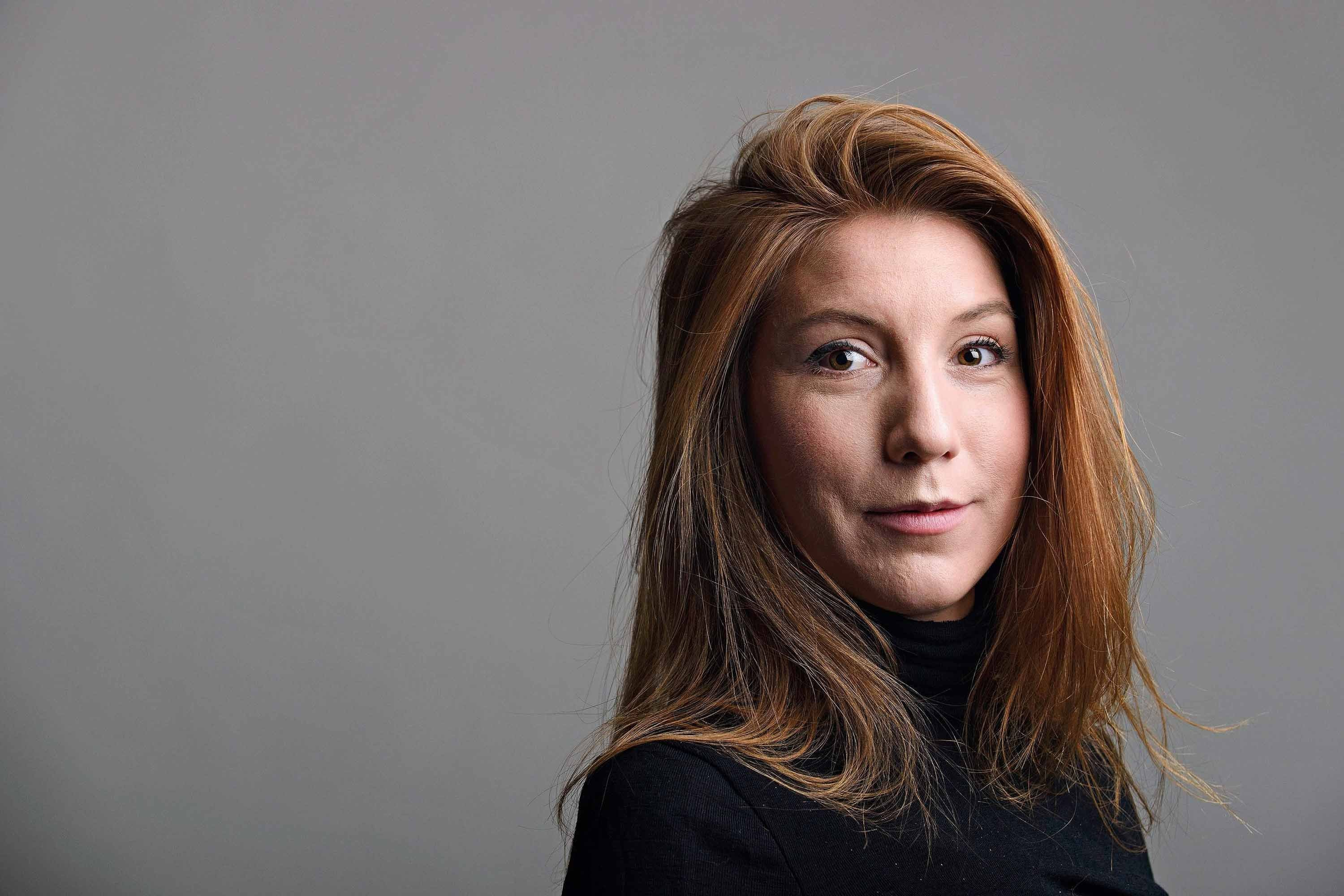 Peter Madsen is accused of killing Kim Wall, pictured, aboard his submarine last August.