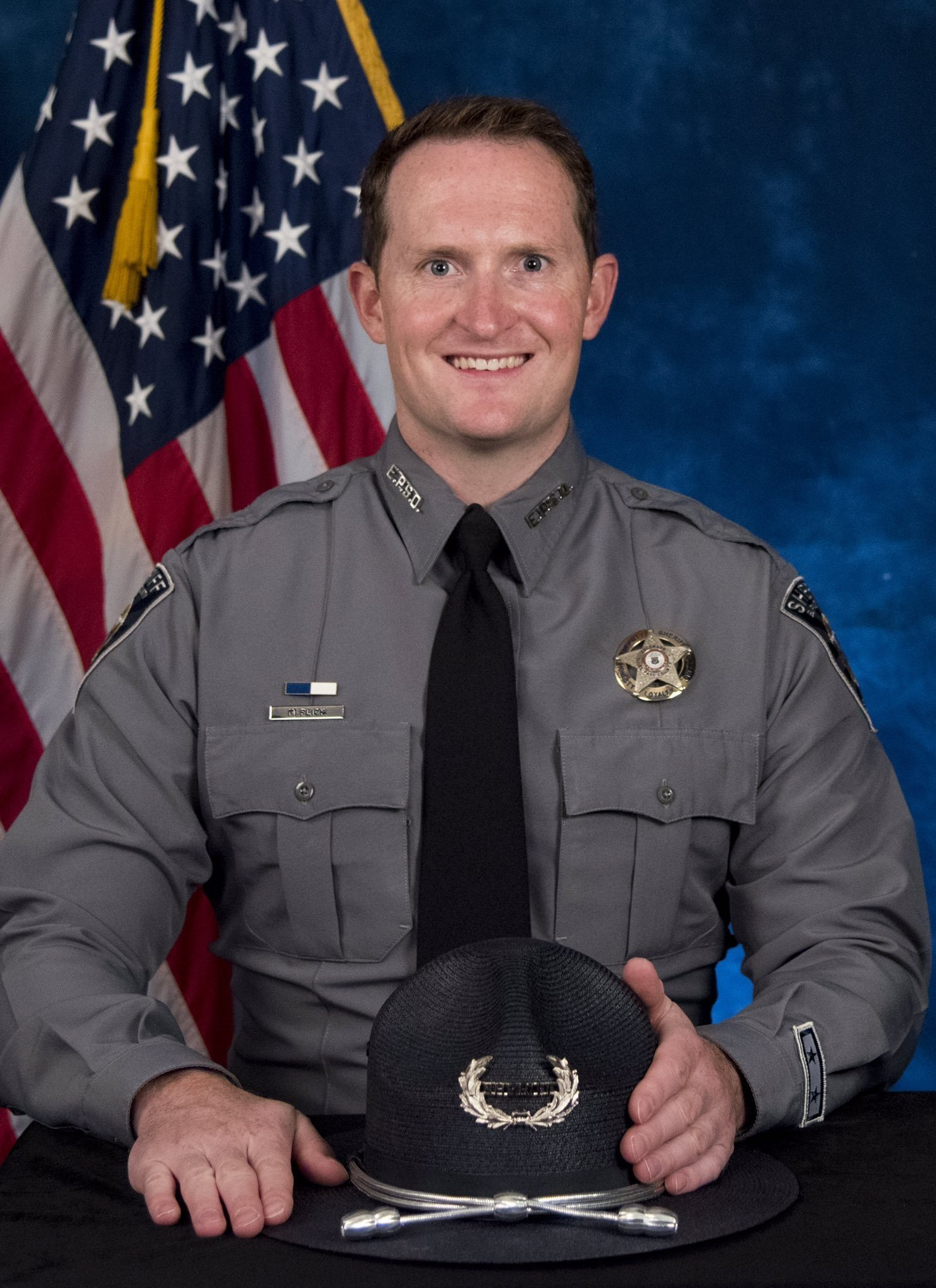 Deputy Micah Flick was shot and killed in the line of duty. He is survived by his wife and 7-year-old twins.