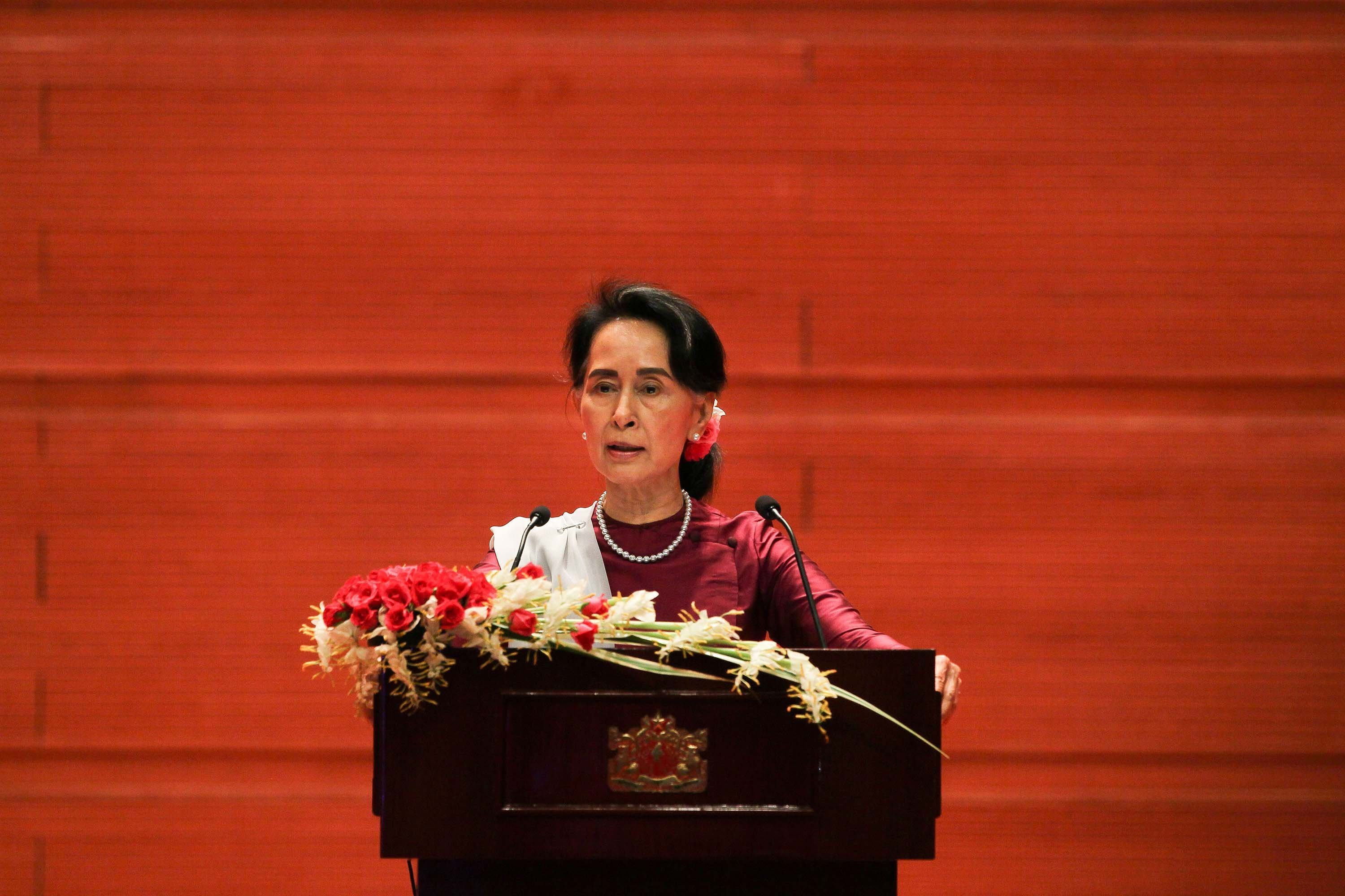 Aung San Suu Kyi, who was once a darling of the international human rights community, has been stripped of another prestigious honor over ongoing violence against Rohingya Muslims in Myanmar's Rakhine State.