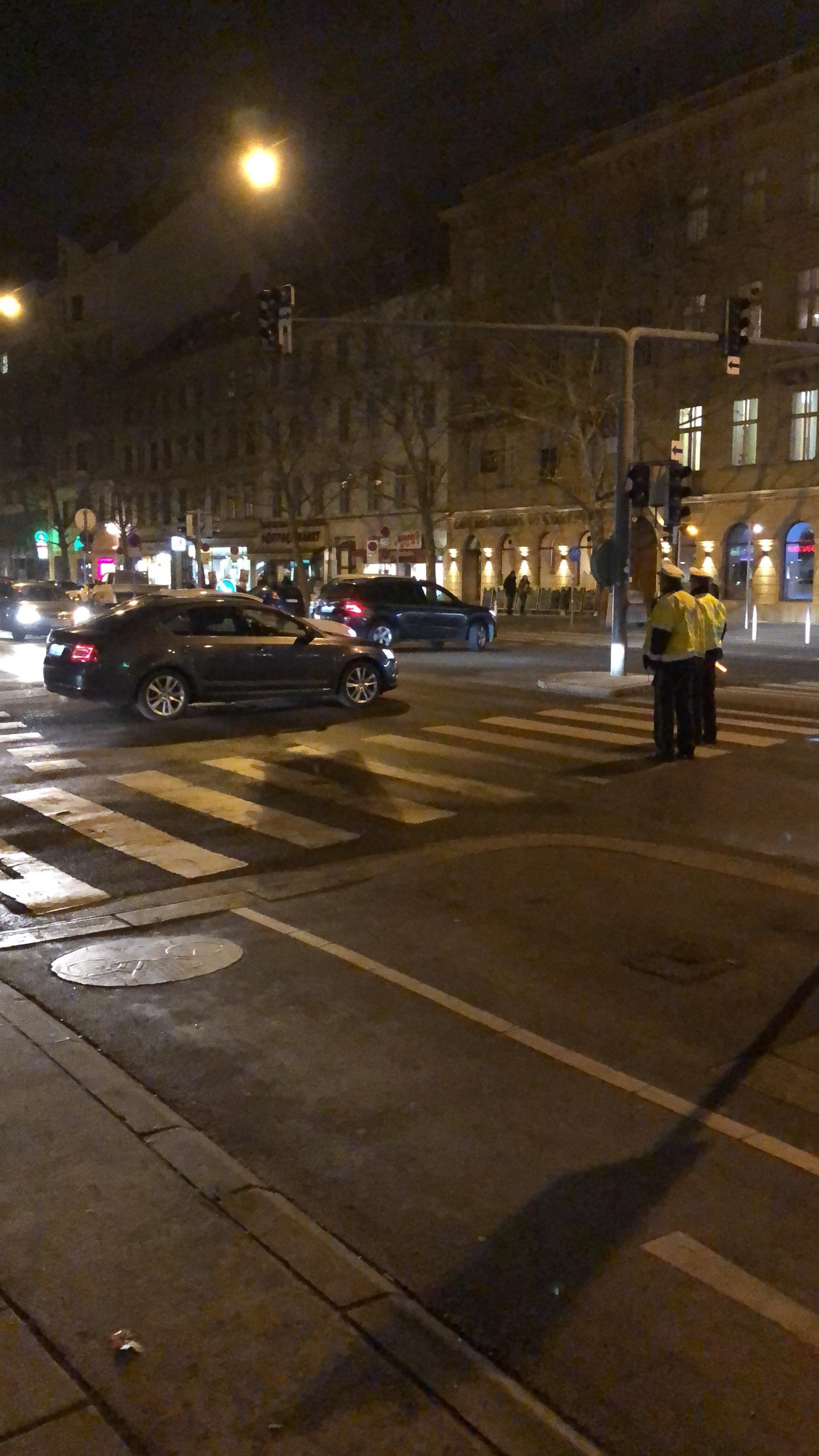 Police say that a knife attacker injured family members near a subway station in Vienna, Austria on March 7, 2018.