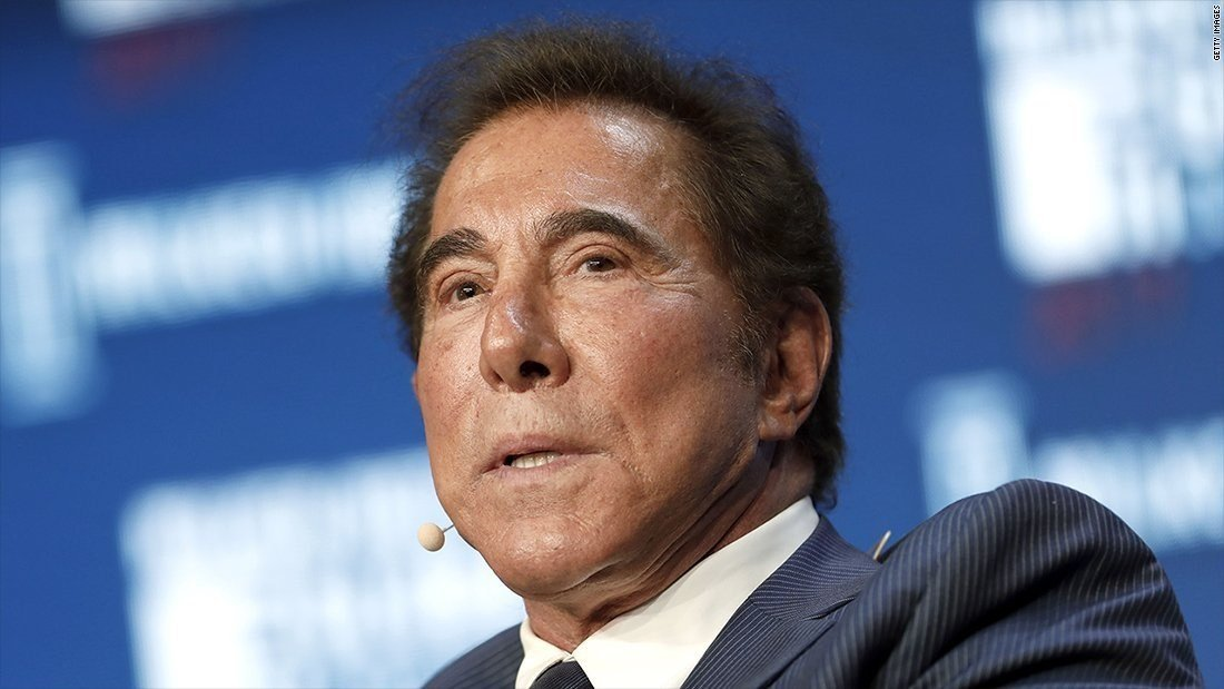 **This image is for use with this specific article only**  Steve Wynn is the founder and CEO of Wynn Resorts.