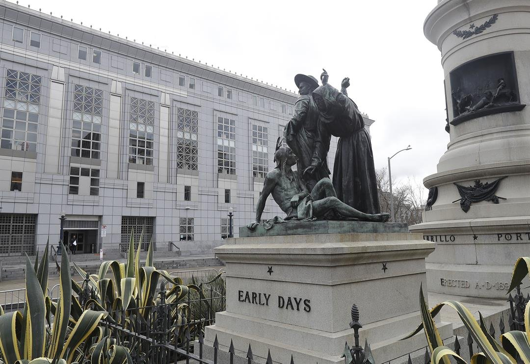 This San Francisco statue will be removed after complaints that it's degrading to Native Americans.