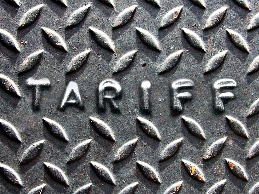 """President Donald Trump said Tuesday, March 8, 2018, hat his promised tariffs on steel and aluminum imports -- 25% on steel, 10% on aluminum -- would be applied in a """"very loving way."""""""