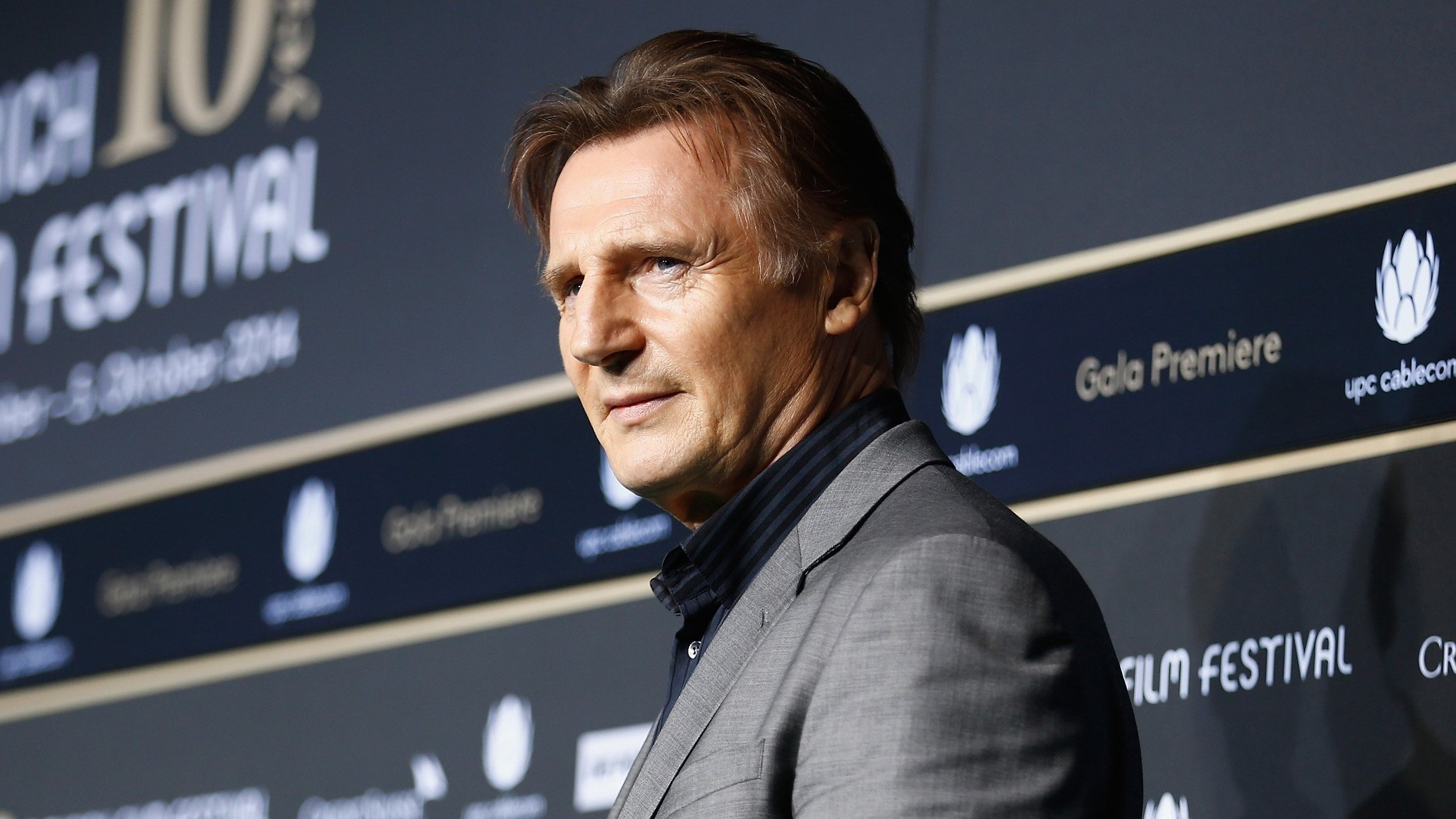 Actor Liam Neeson, 65, became known for pummeling bad guys on the big screen.
