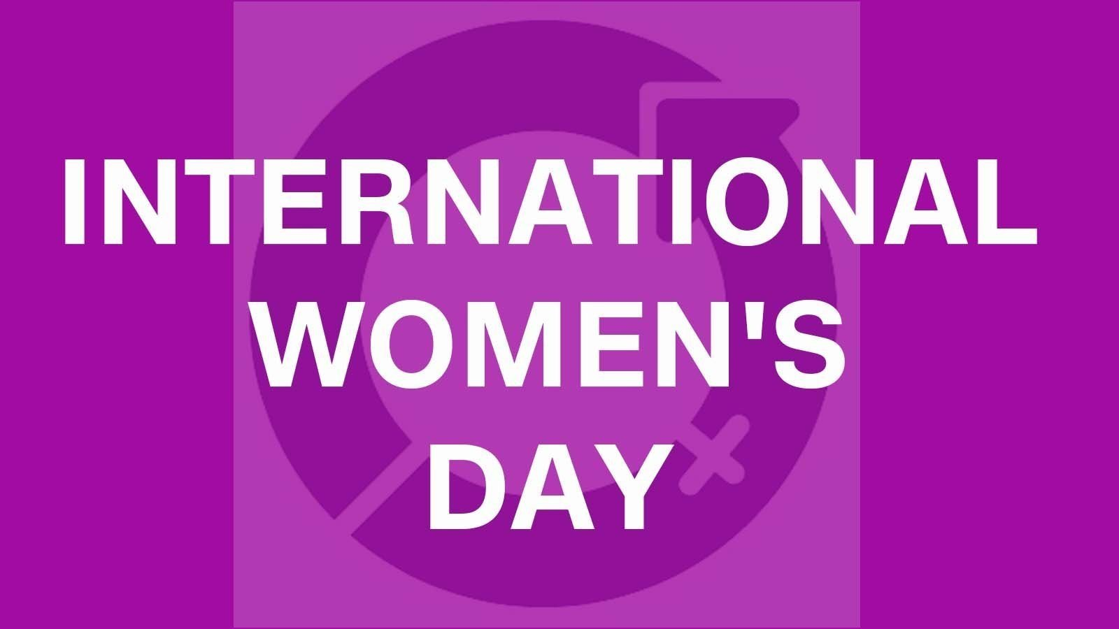International Women's Day is on March 8, 2018.  Credit: International Women's Day/Facebook