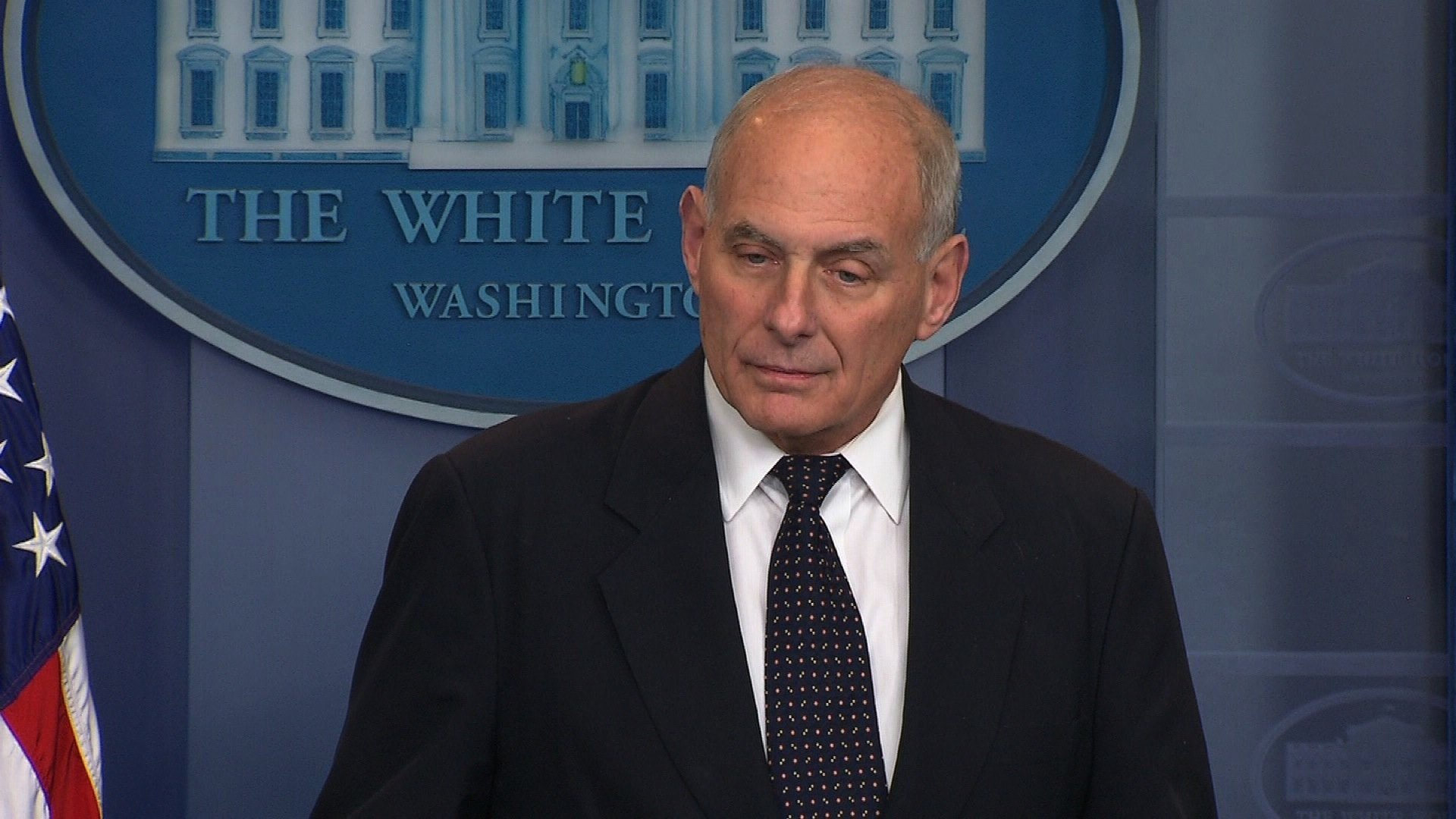 White House chief of staff John Kelly has warned President Donald Trump to be careful about talking to witnesses in the Russia investigation, a White House official told CNN on Thursday.