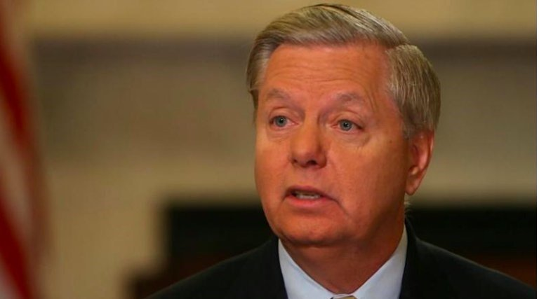 "Republican Sen. Lindsey Graham of South Carolina and Democratic Sen. Richard Blumenthal of Connecticut unveiled the ""Federal Extreme Risk Protection Act,"" which is modeled after existing laws in multiple states that attempt to intervene and disarm..."