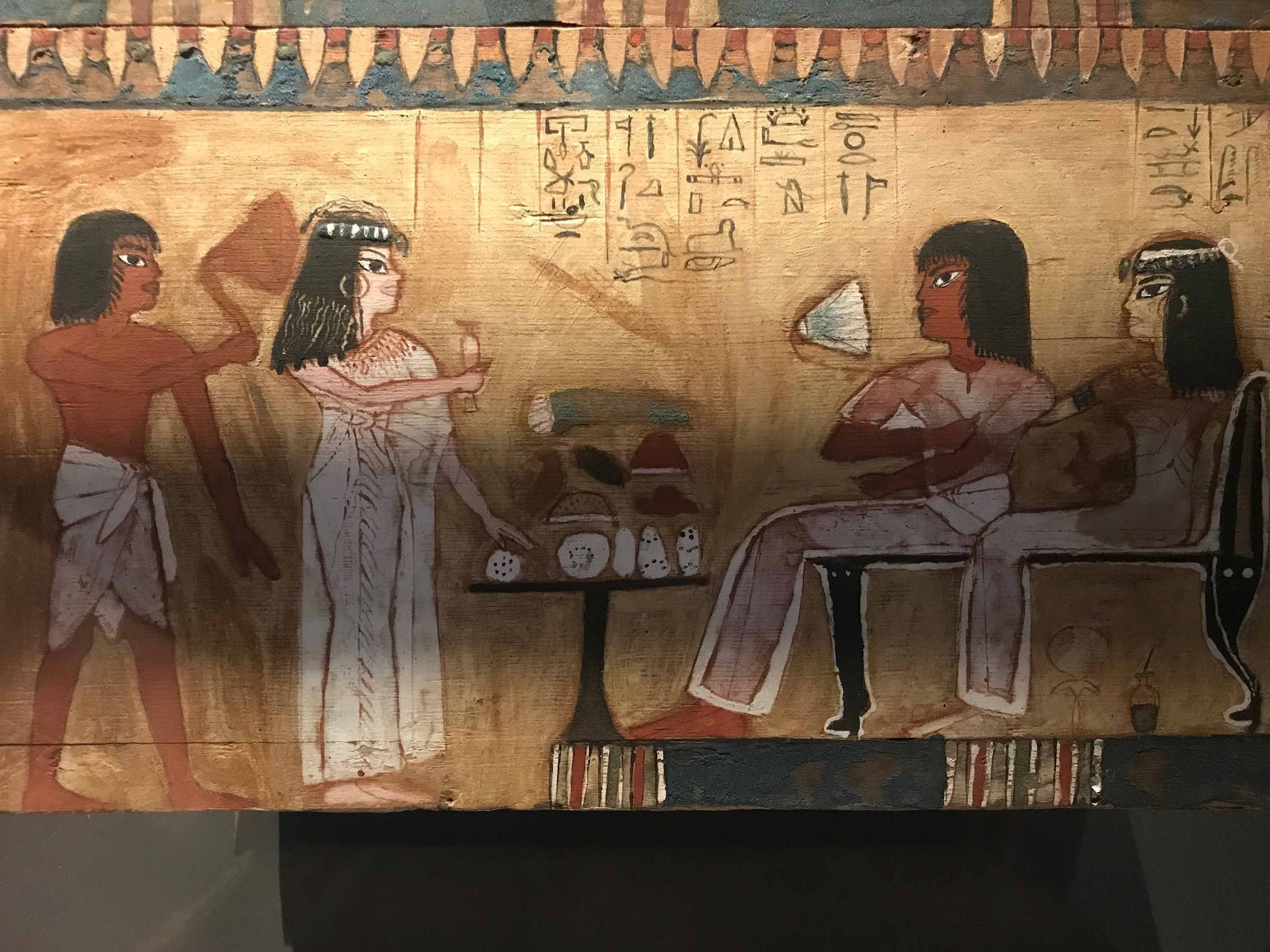 Museum displays parity of women in ancient Egypt