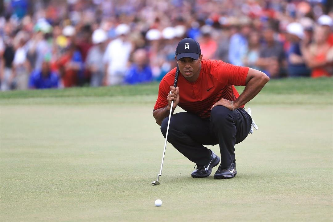 Tiger Woods ties for second at the Valspar Championship on Sunday, March 11, 2018.