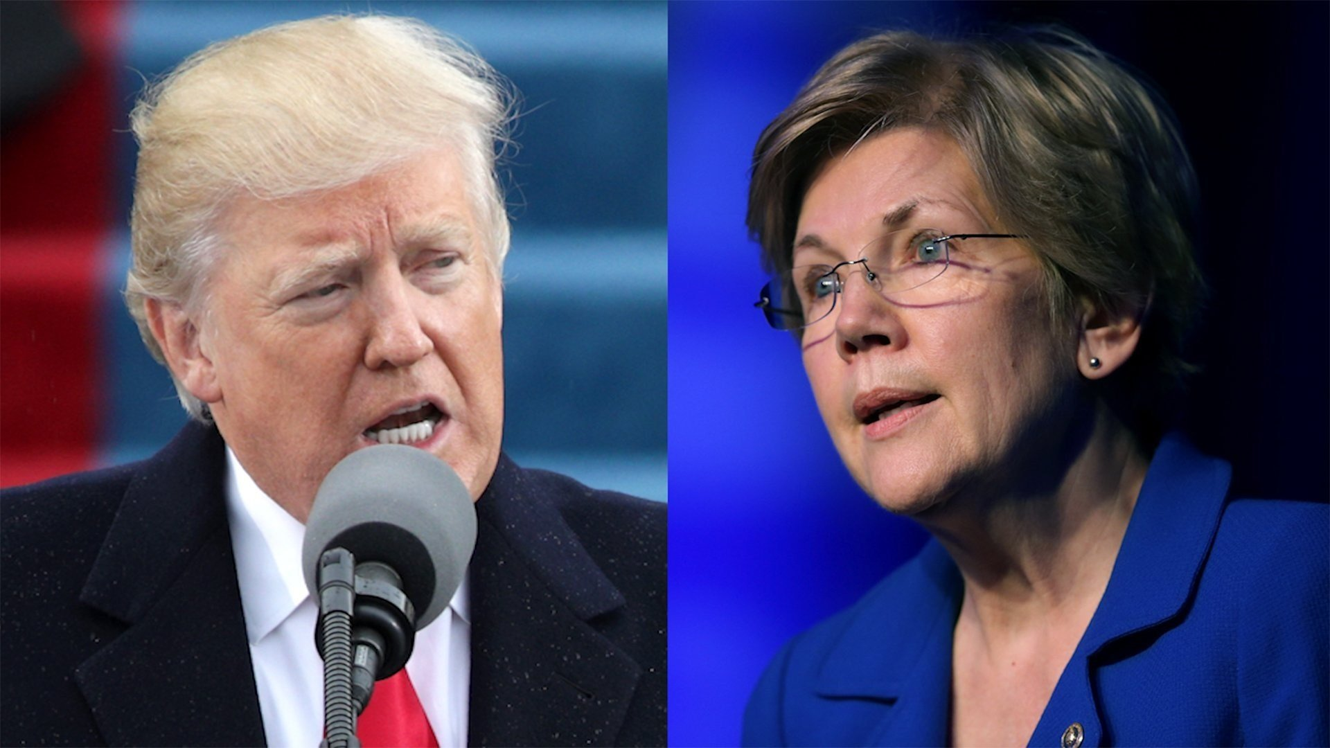 President Donald Trump trades on identity politics, and that is what he's doing with Sen. Elizabeth Warren.