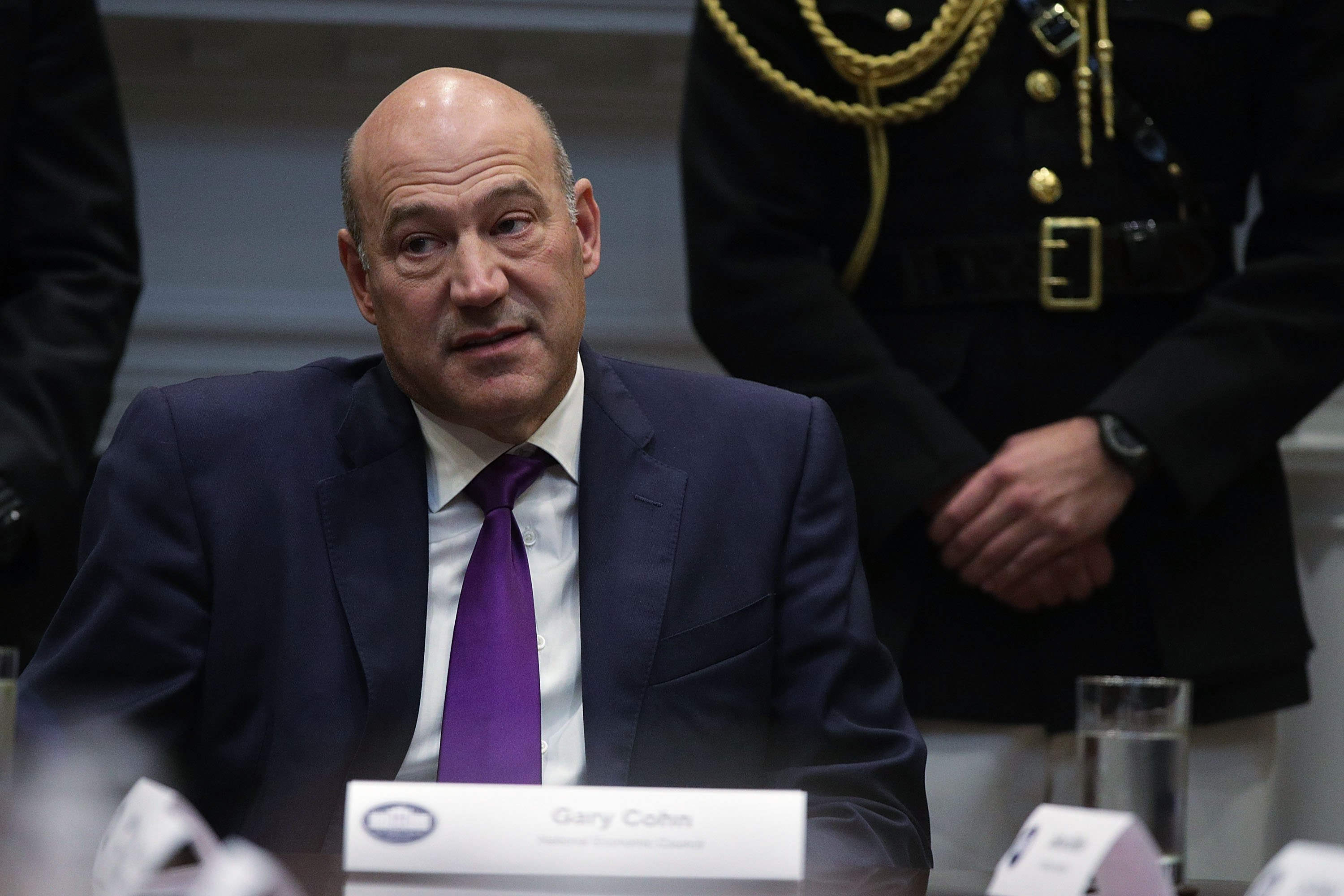 Gary Cohn Trump's top economic adviser resigned from the White House last week after he voiced his fierce disagreement with the President's decision to levy steel and aluminum tariffs