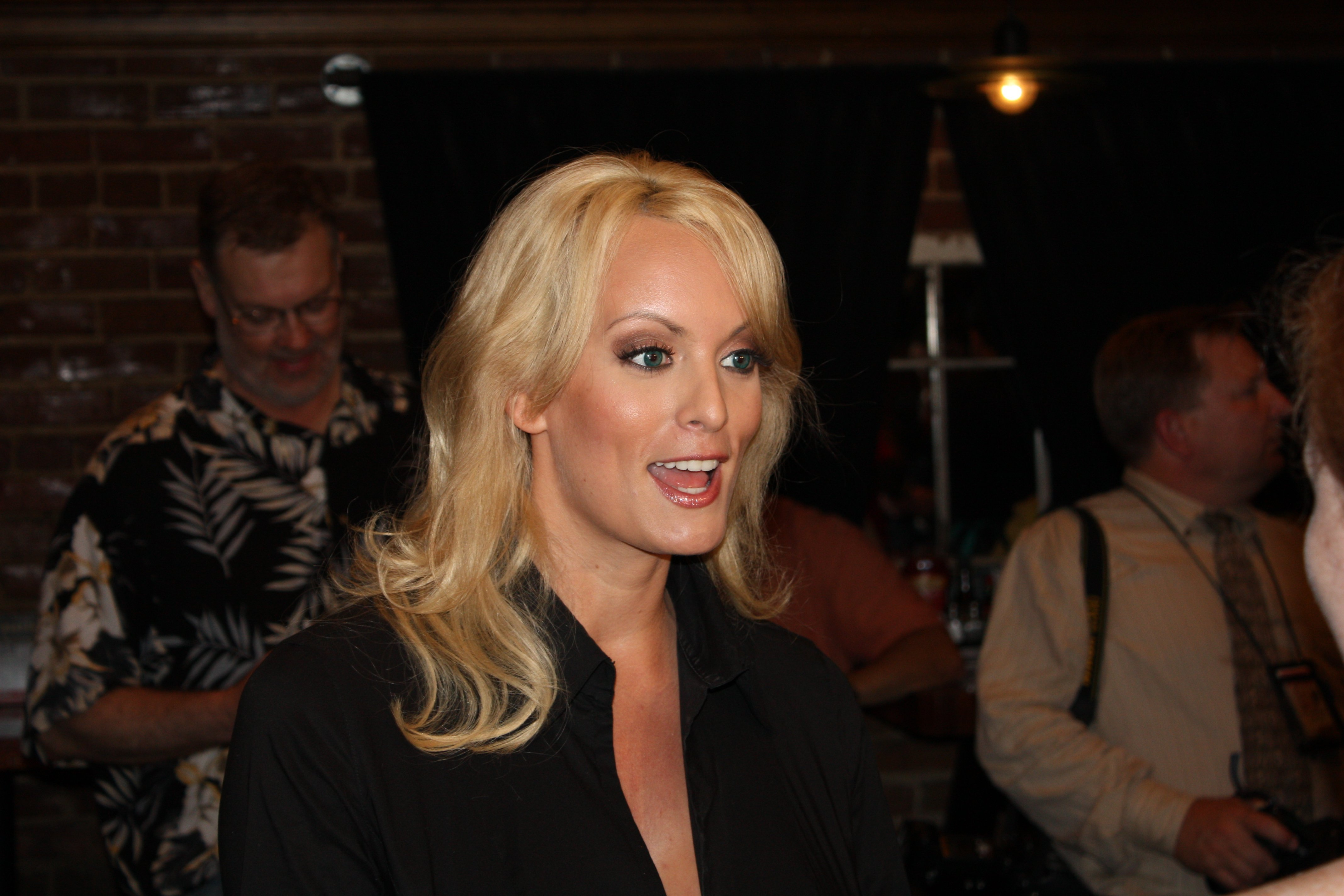 File- Stephanie Clifford, the porn star known as Stormy Daniels, discussed her alleged affair with Donald Trump during a May 2007 radio appearance, a well-known Florida radio personality told his listeners Friday.