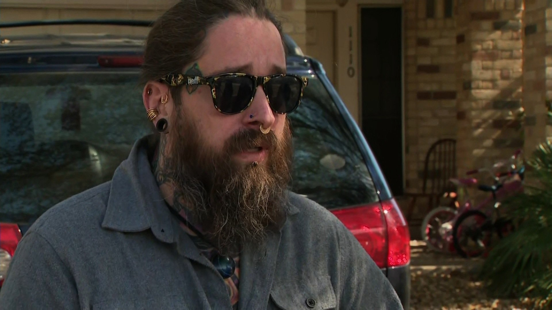 Sean Philips had just woken up and was sitting on his couch when he heard the blast that would take his neighbor's life.