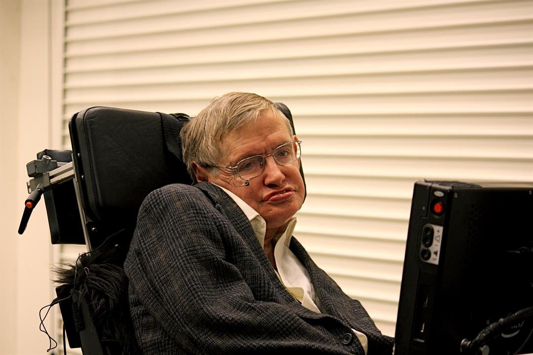 For the first time ever, influential British scientist Stephen Hawking's doctoral thesis is available to the public -- if you can get the web page to load.