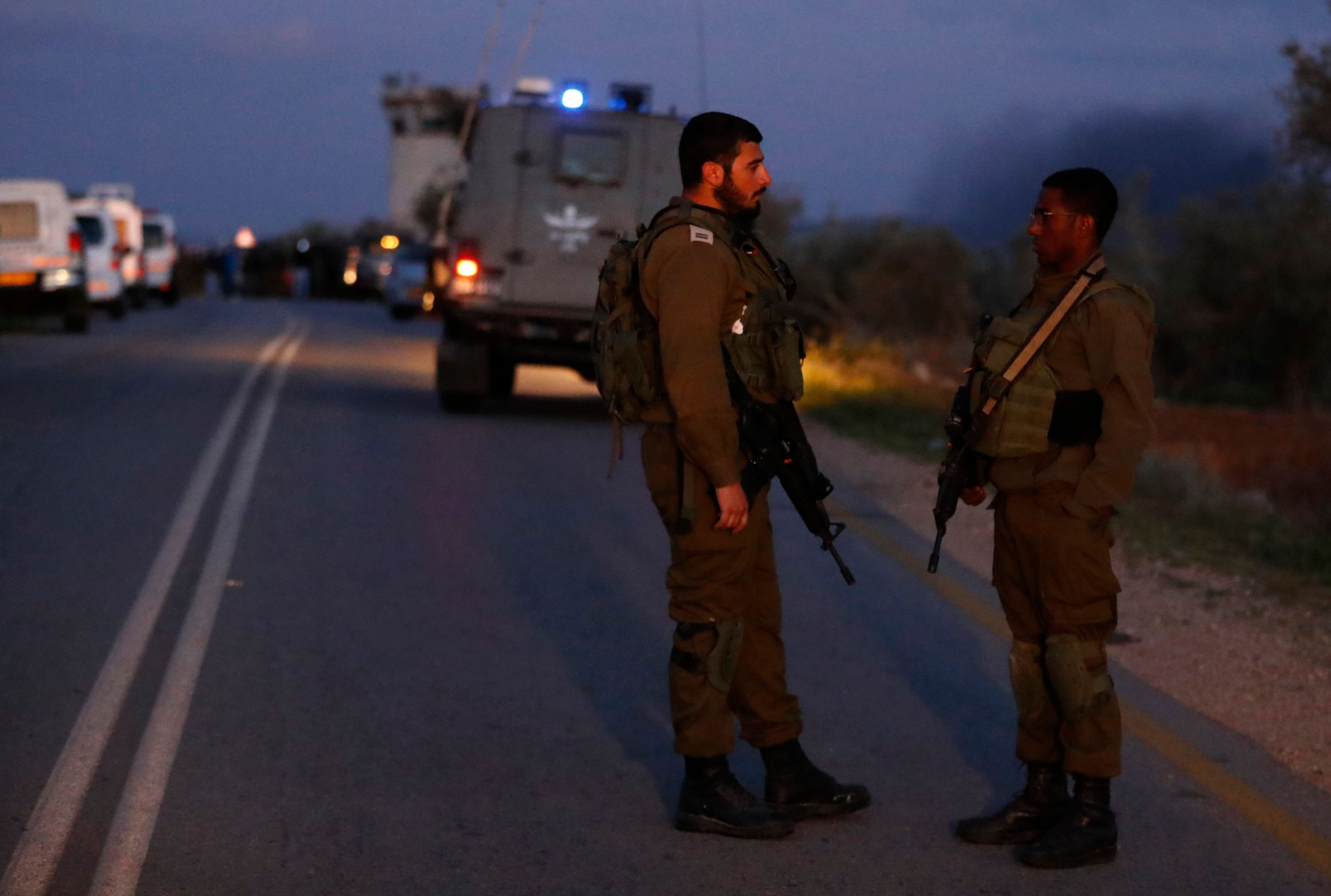 Suspected Palestinian car-ramming kills 2 Israelis in WBank: radio