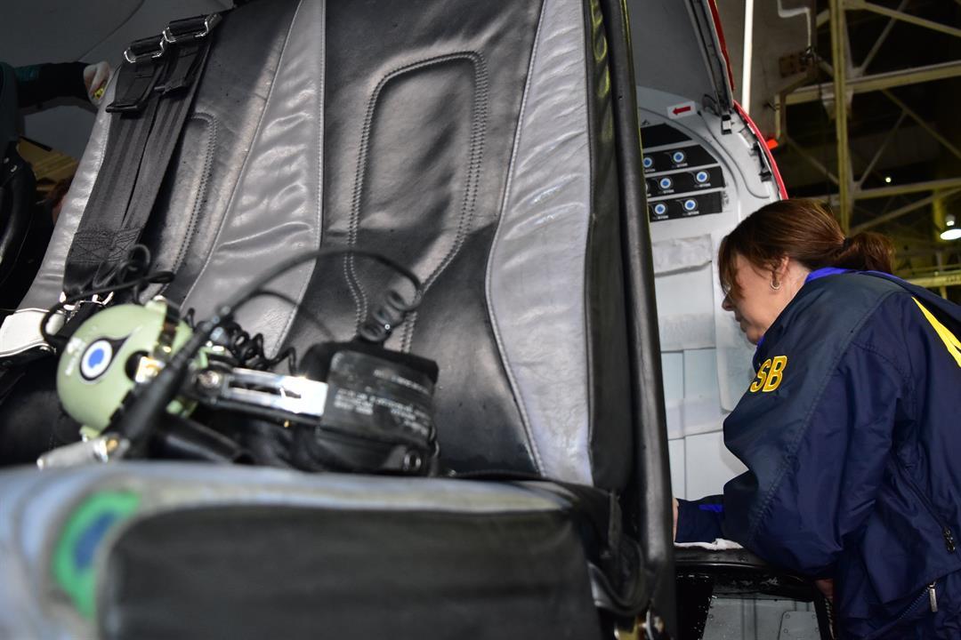 FAA temporarily grounds open-door helicopter flights
