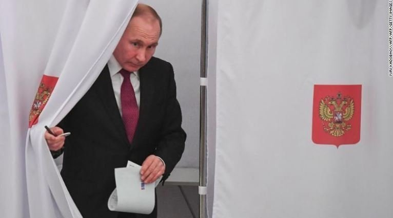 Preliminary Results Say Putin Won Presidential Elections