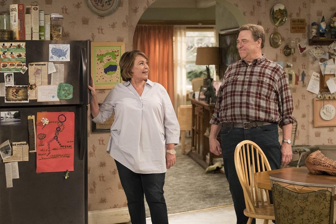 In the first episode of the newly relaunched sitcom Roseanne we learn that Roseanne Conner like the actress who plays her Roseanne Barr is a Donald Trump supporter