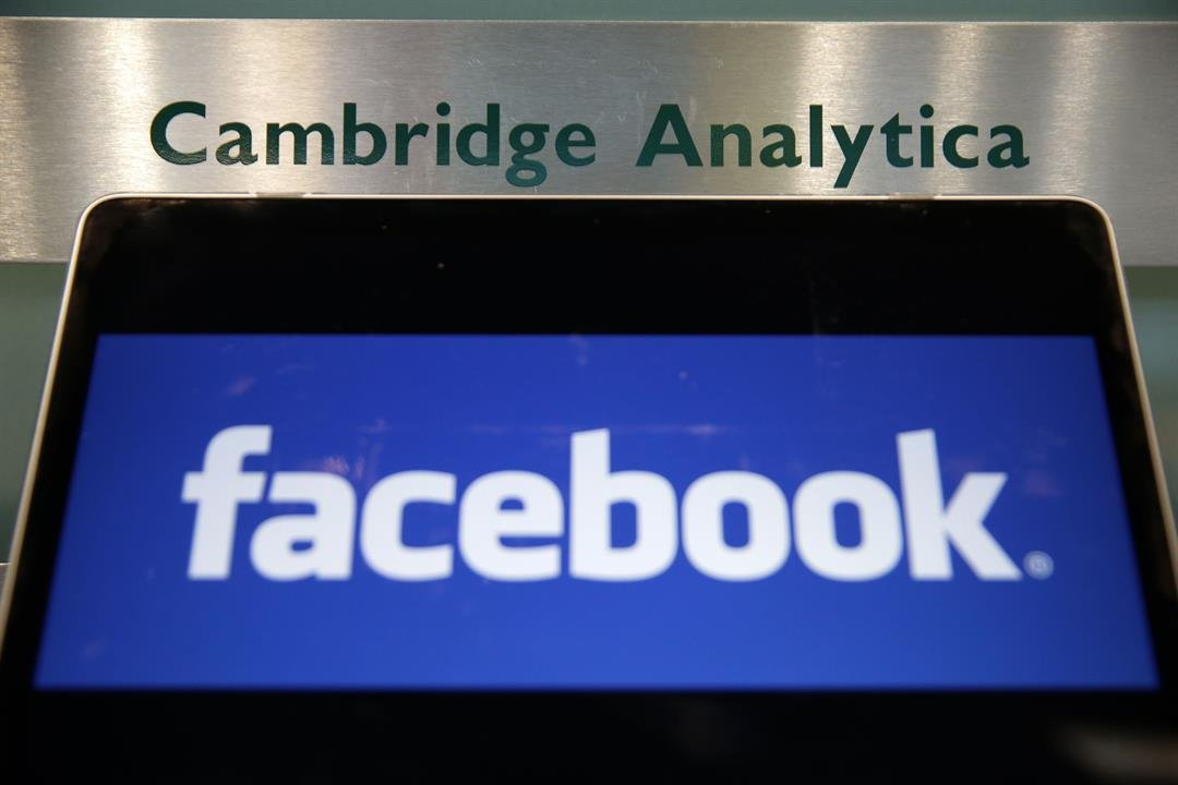 Congress poster spotted in Cambridge Analytica ex-CEO's London office