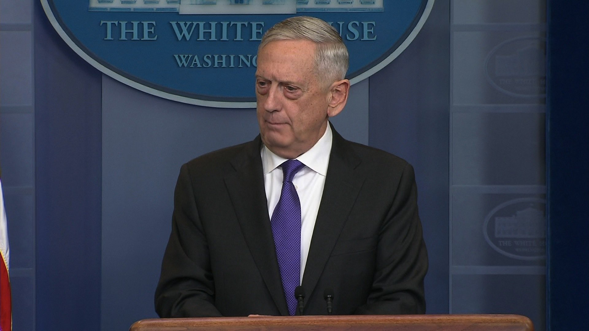 Mattis on taking action in Syria: 'I don't rule anything out'