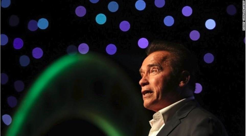 Arnold Schwarzenegger is feeling much better after heart surgery