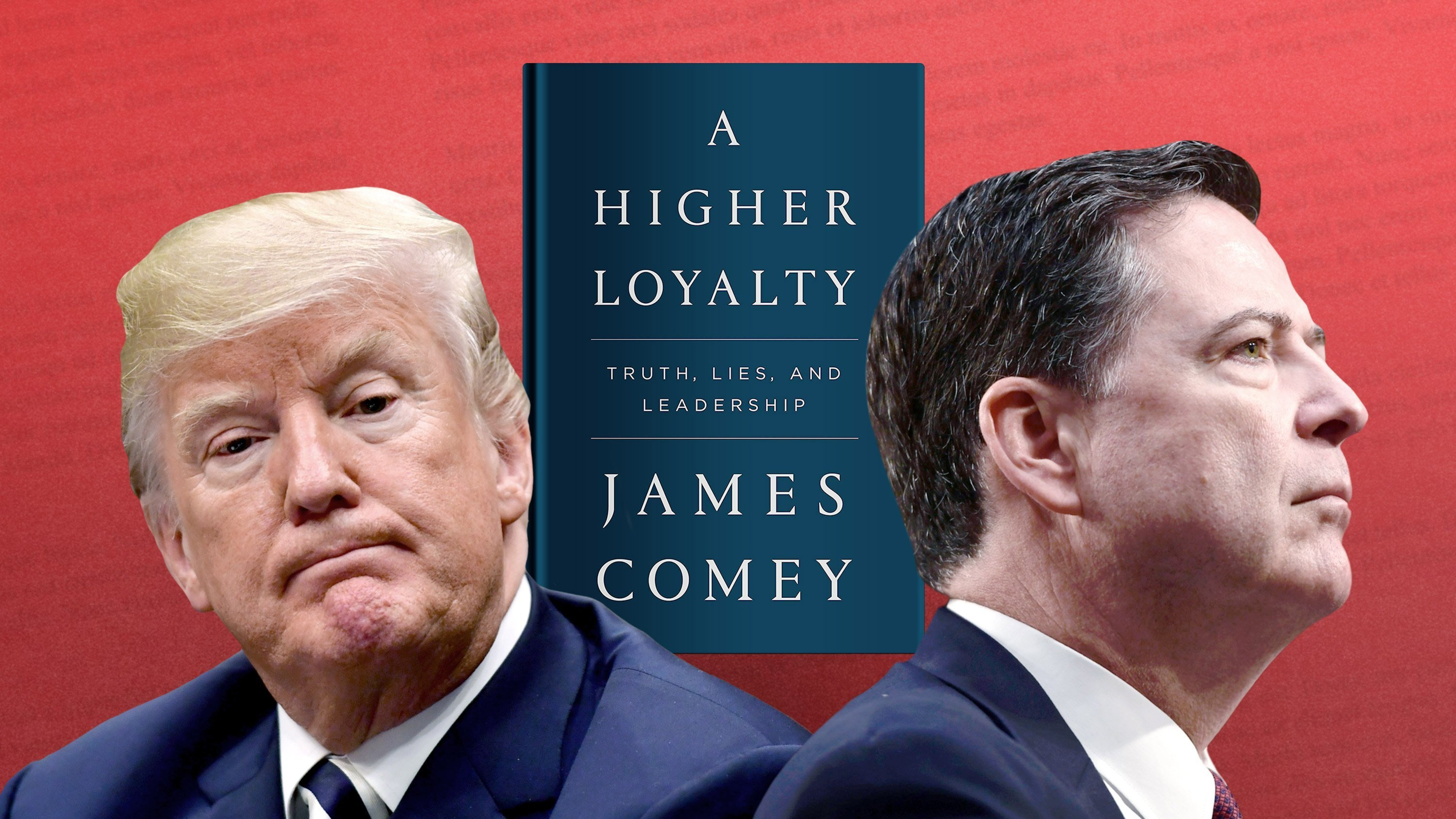 Comey book says John Kelly referred to Trump as