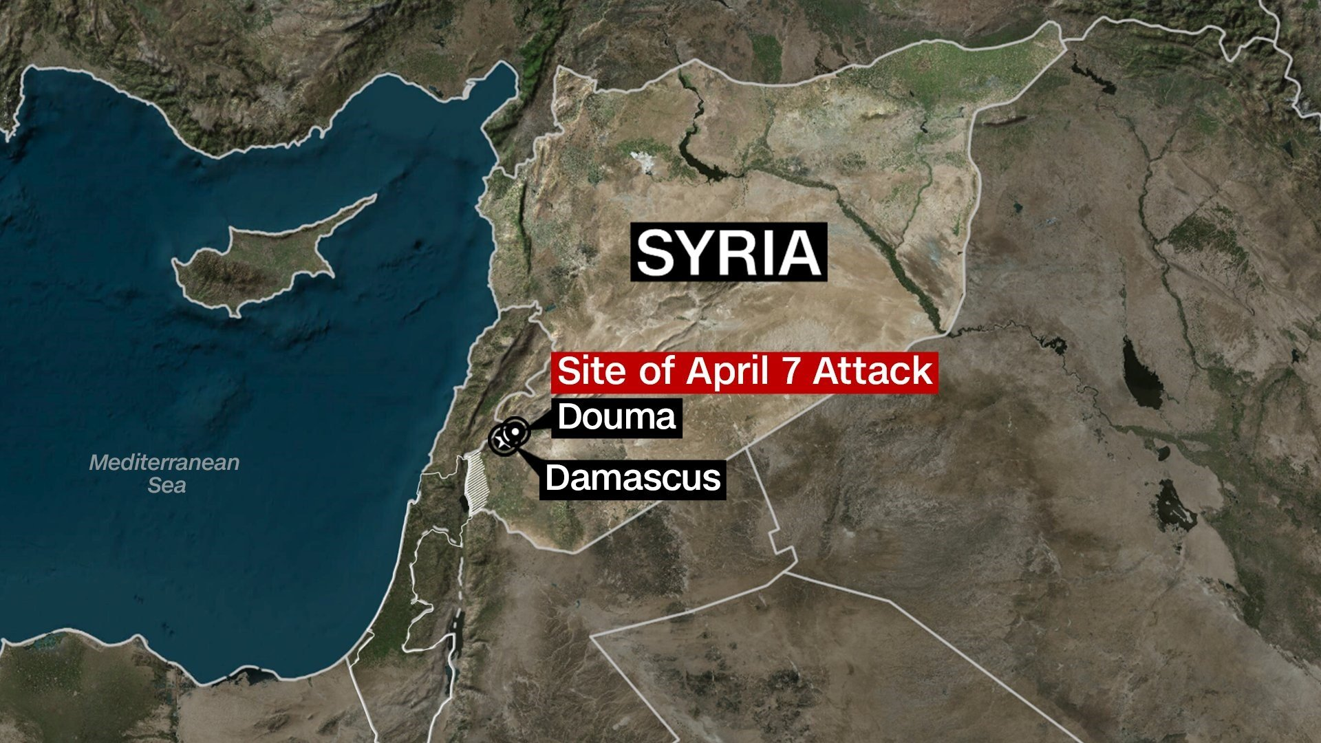 President Donald Trump announced on Friday he ordered strikes on the Syrian regime in response to a chemical weapons attack last weekend.
