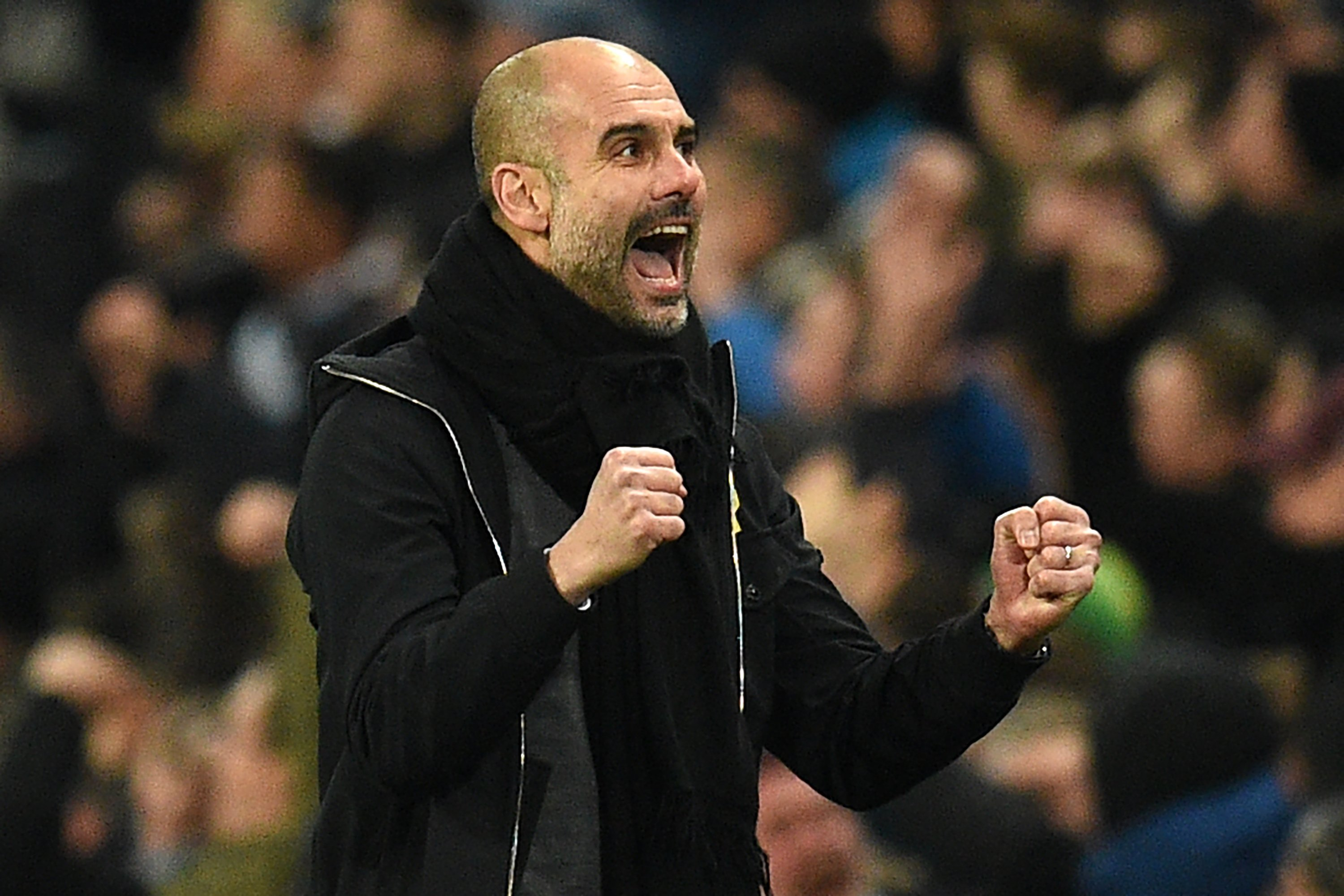 Guardiola's City side has scored almost three goals every league game.