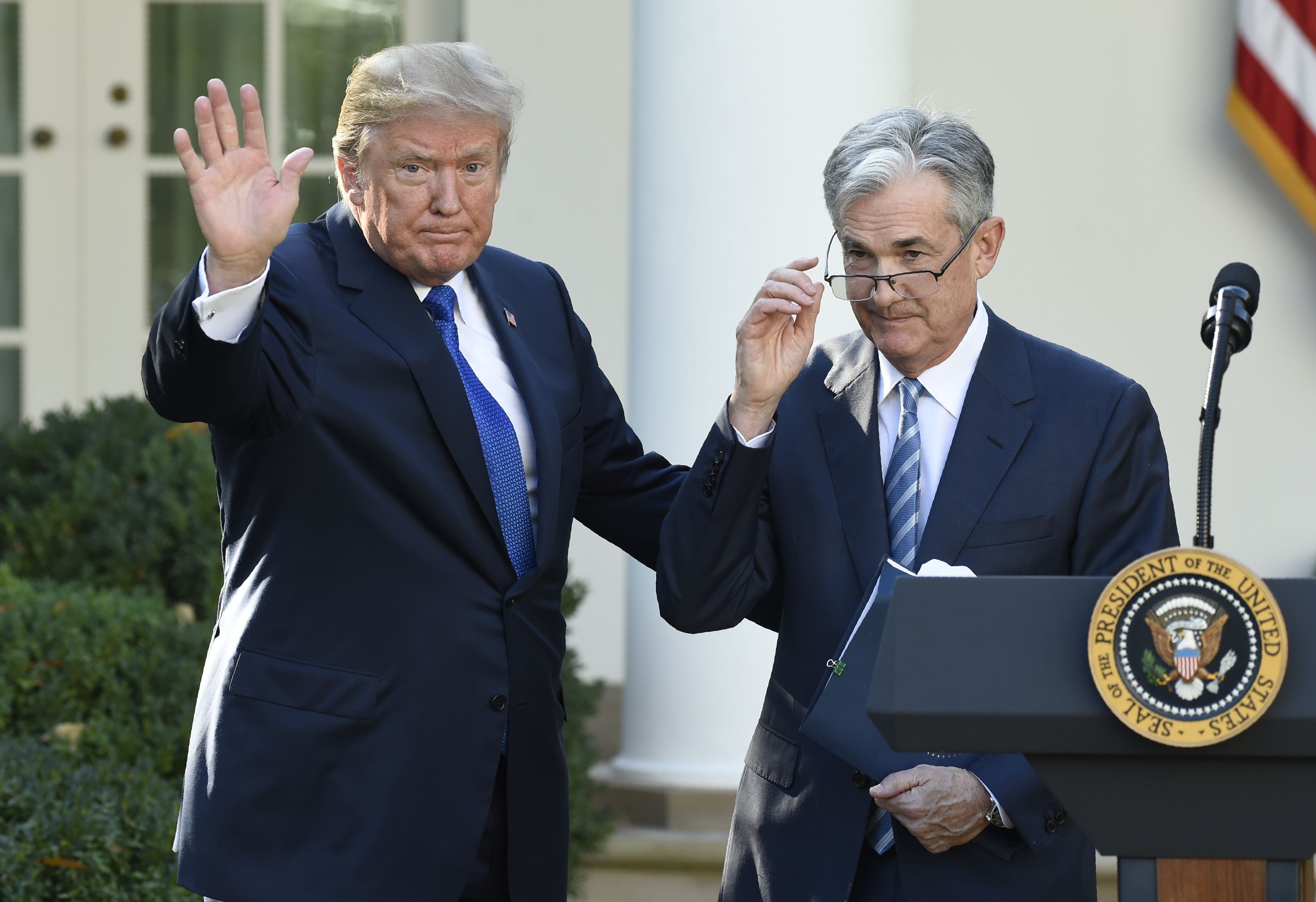 President Trump is slowly filling the empty seats on the Federal Reserve Board.