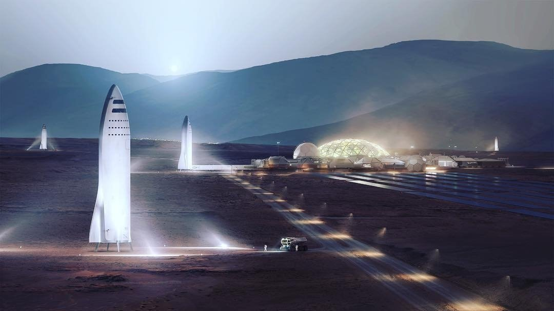 SpaceX plans to open up shop at the Port of Los Angeles where it'll work on research design and development of its Mars rocket