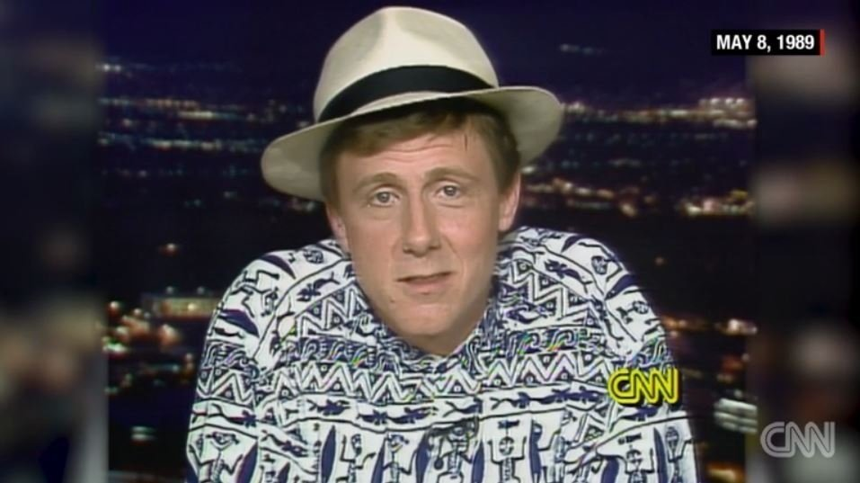 "Actor Harry Anderson, known for playing Judge Harry Stone on the NBC sitcom ""Night Court,"" was found dead in his home in Asheville, North Carolina, on Monday, police say. He was 65 years old, according to IMDB. Seen here is Anderson speaking with CNN..."