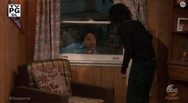 Johnny Galecki returns as David in 'Roseanne' reboot