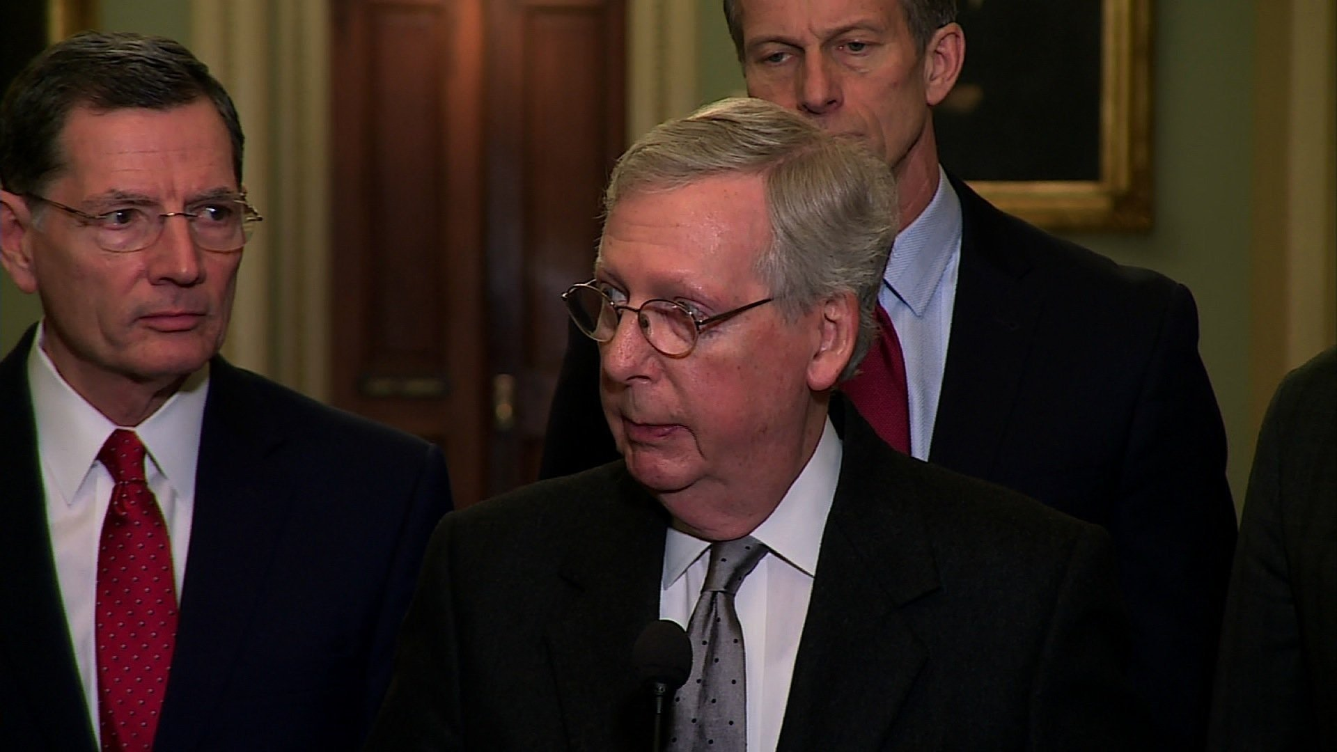 Laws to protect Mueller 'not necessary,' McConnell States