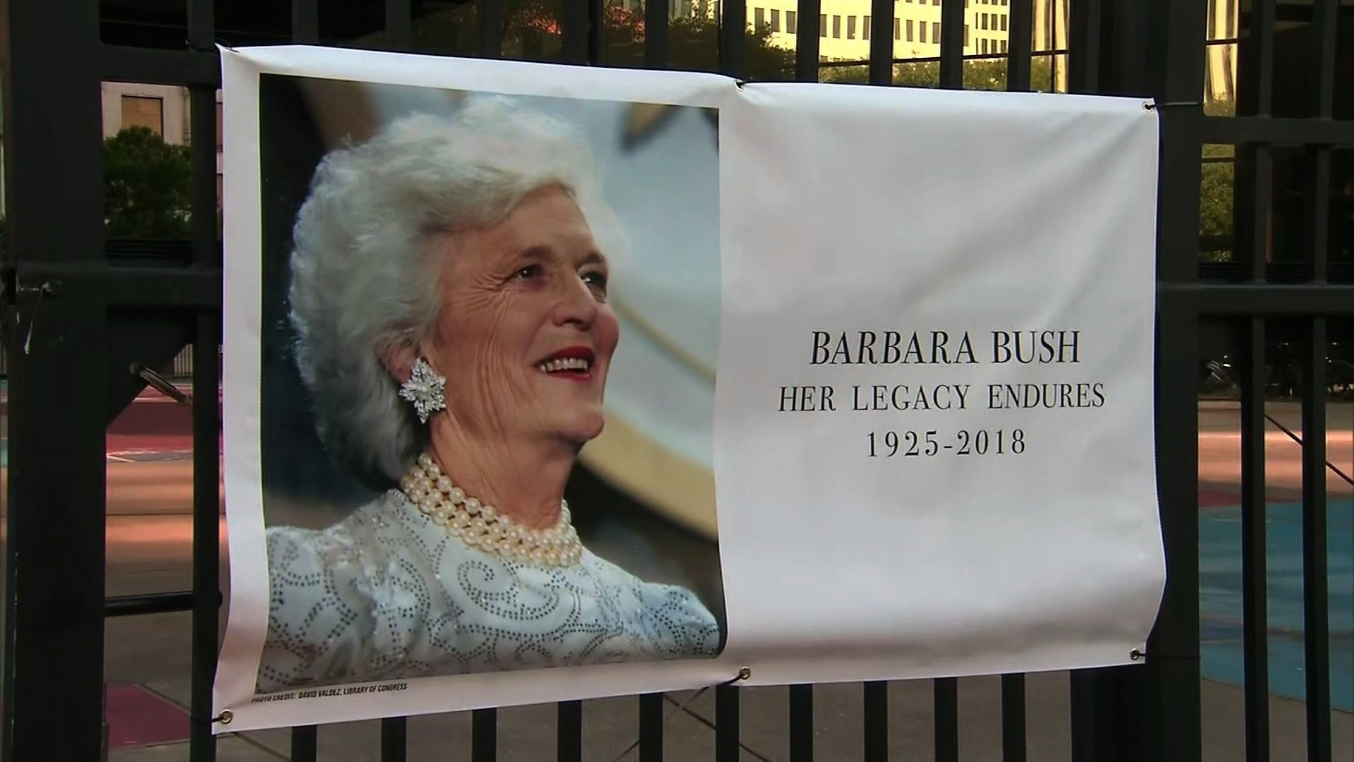 Funeral service honoring the life and legacy of Barbara Bush