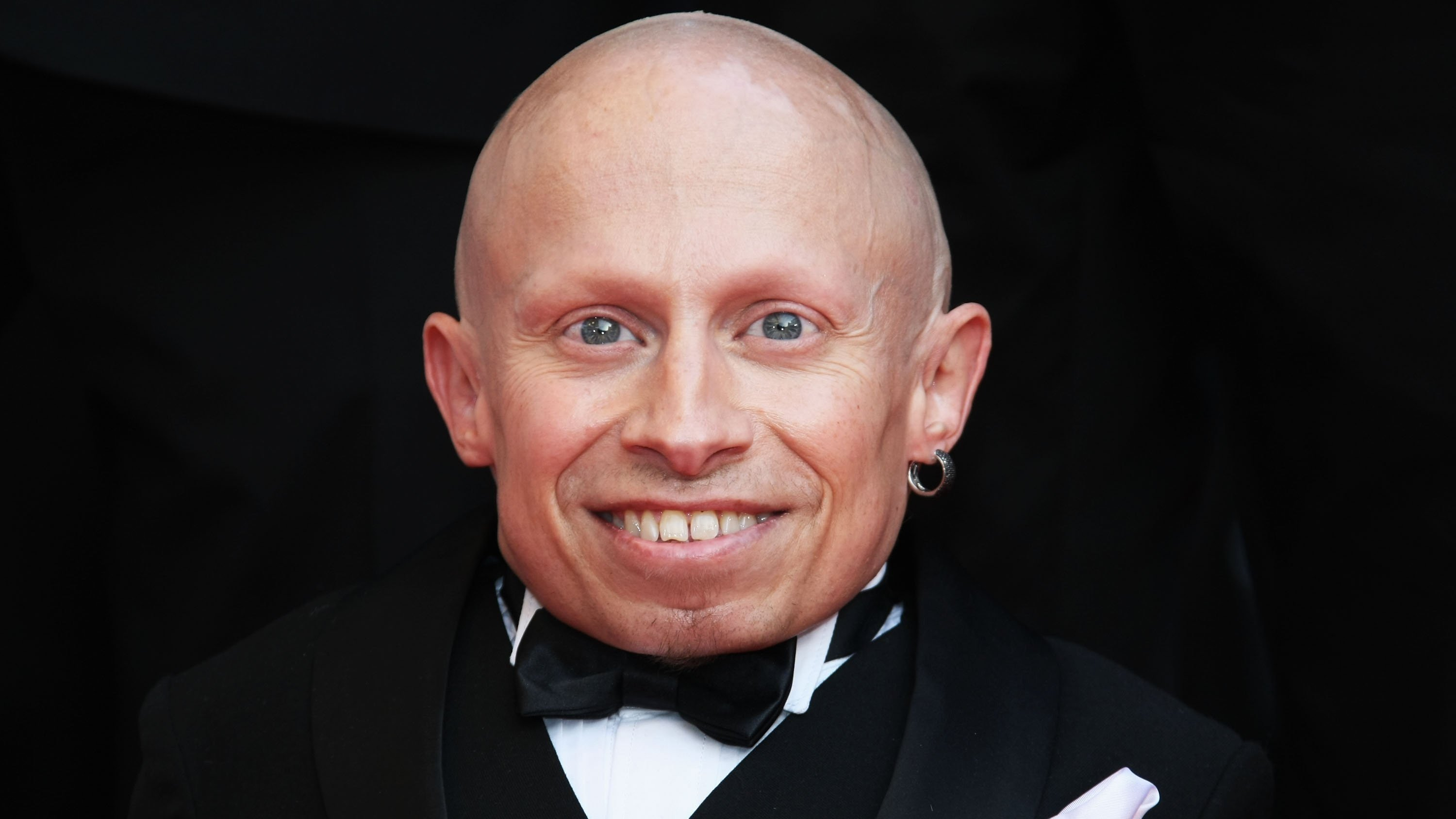 Actor Verne Troyer, seen at the Cannes Film Festival n 2009. Troyer died at age 49.