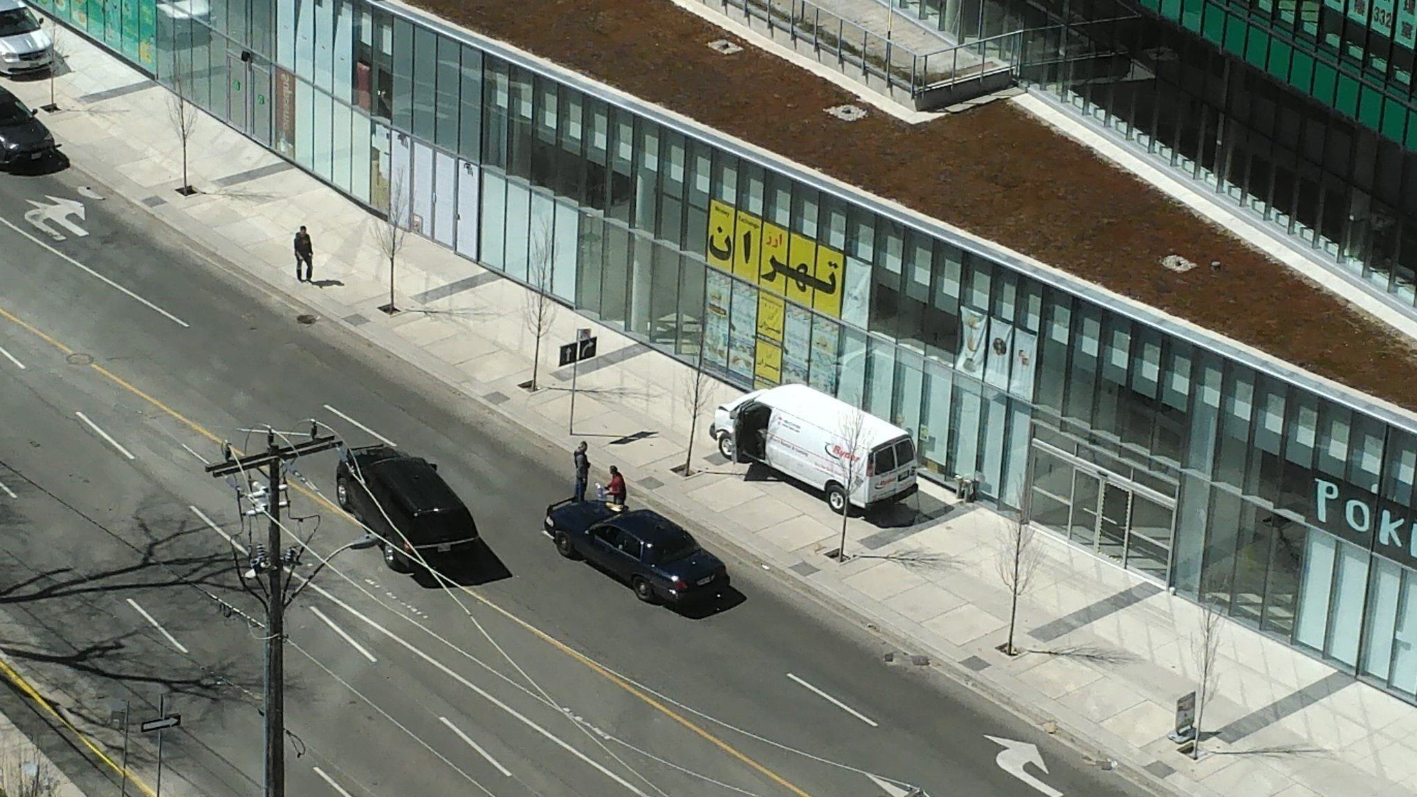 Van hops Toronto sidewalk, killing at least two