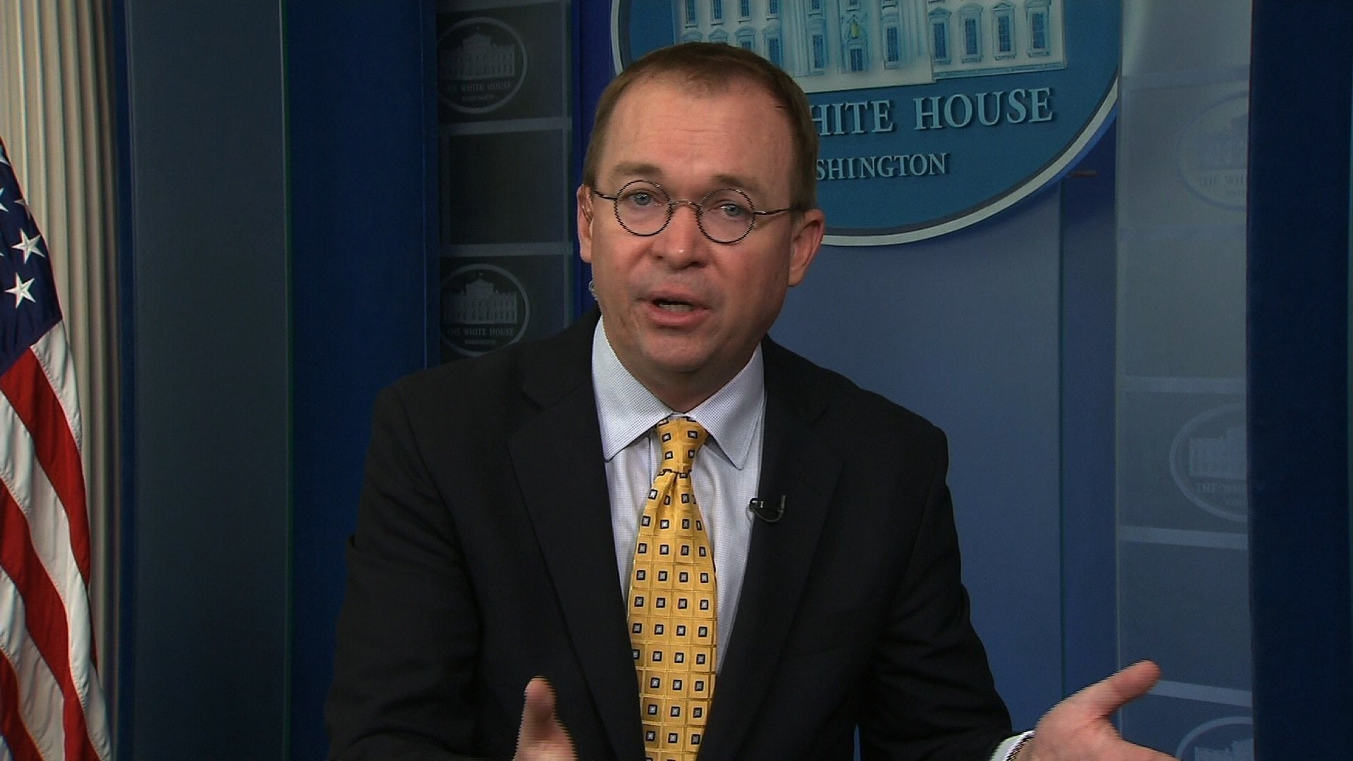 Mick Mulvaney the Acting Director of the Consumer Financial Protection Bureau says he's not trying to destroy the bureau which he once pushed to abolish and now leads