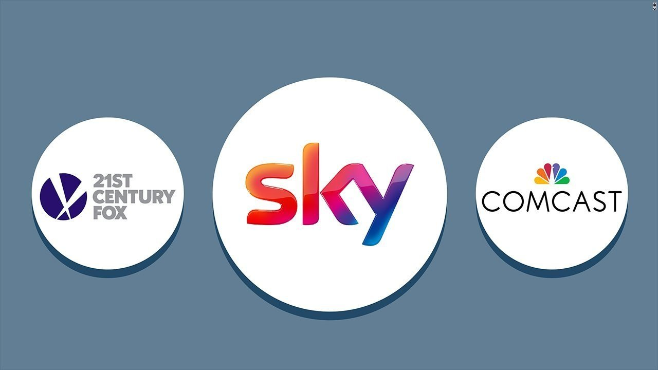 Comcast Taps Tulchan in Bid for Sky