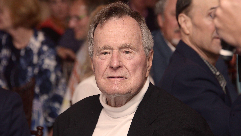 George HW Bush's health is improving