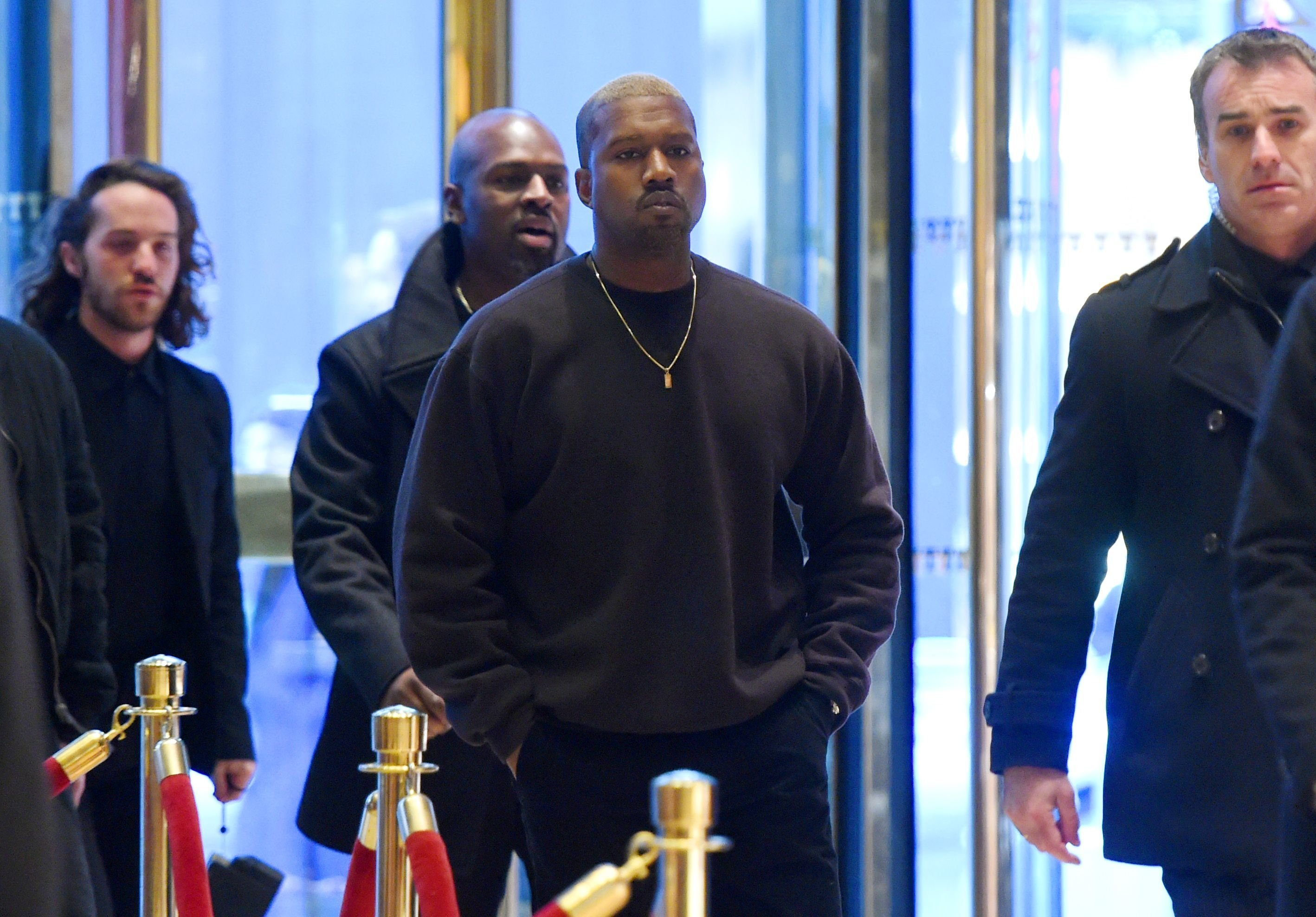 Kanye West: I love Donald Trump - he is my brother