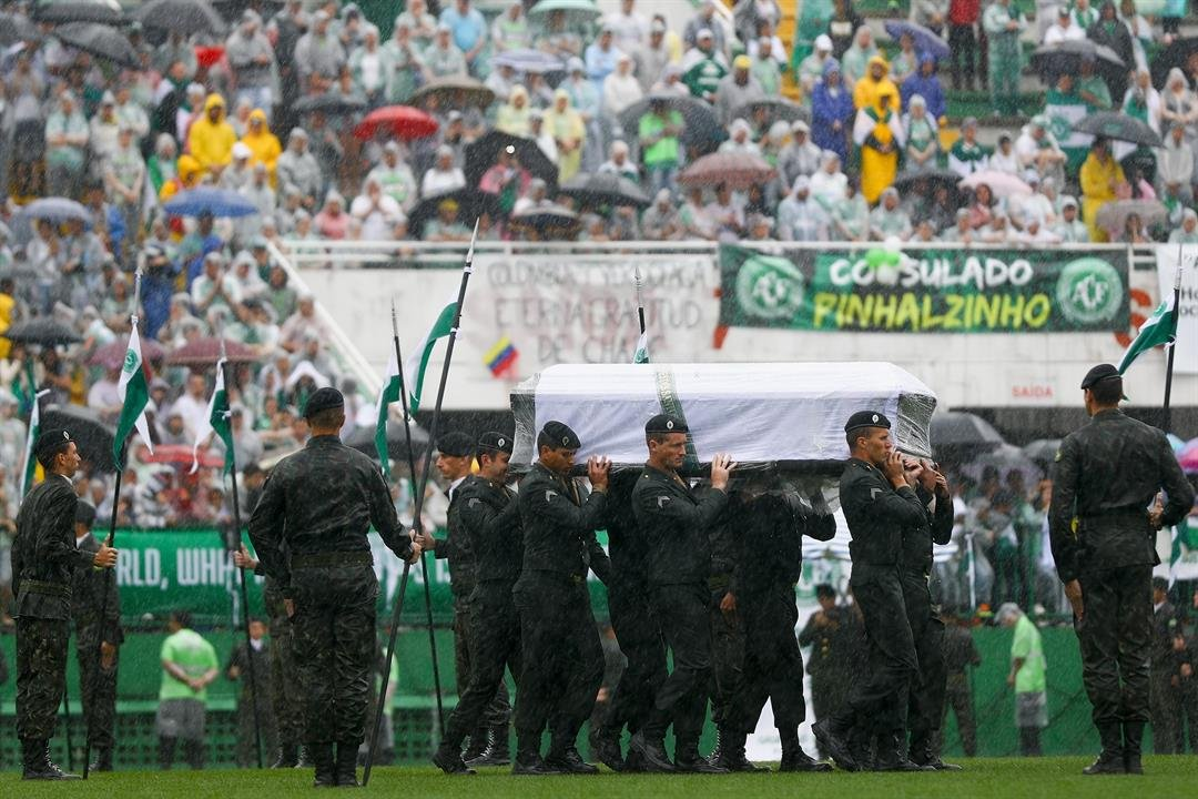 Lack of fuel caused 2016 Brazil football team plane crash