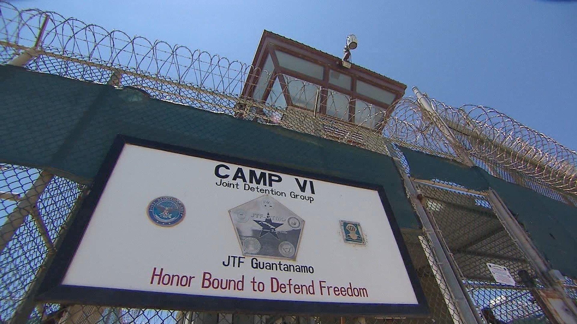 Guantanamo prisoner released, the first of Trump's presidency