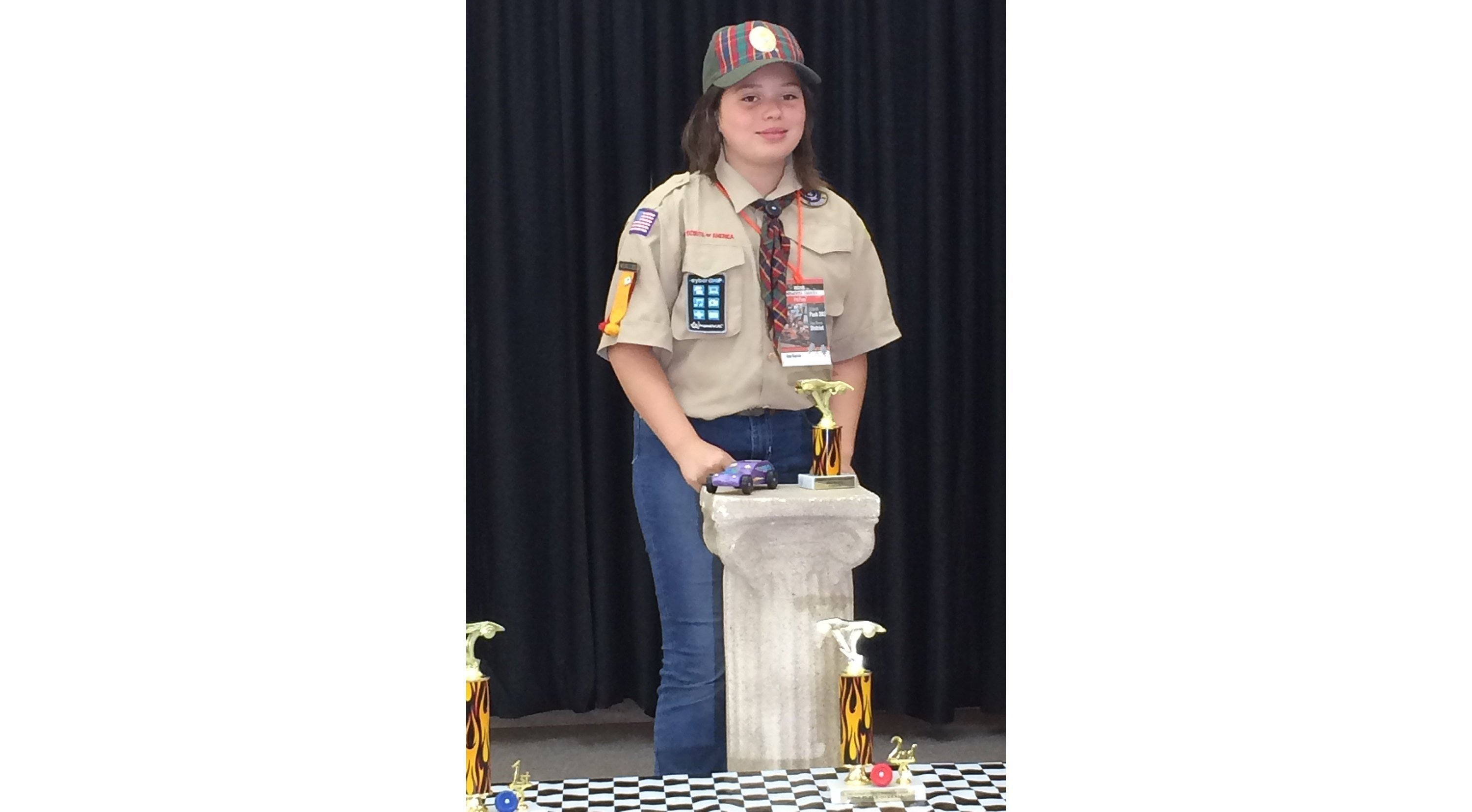 10-year-old Ana Garcia is on the path to become one of the first girls to receive the highest rank of Eagle Scout. She joined the Boy Scouts and sparked a sibling rivalry with her brother