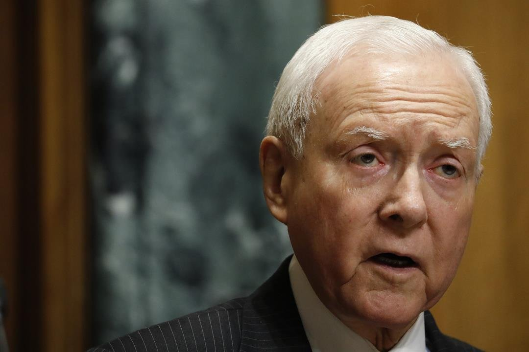 Sen. Orrin Hatch apologized Tuesday for his comments criticizing Sen. John McCain's reported request that President Donald Trump not attend his eventual funeral